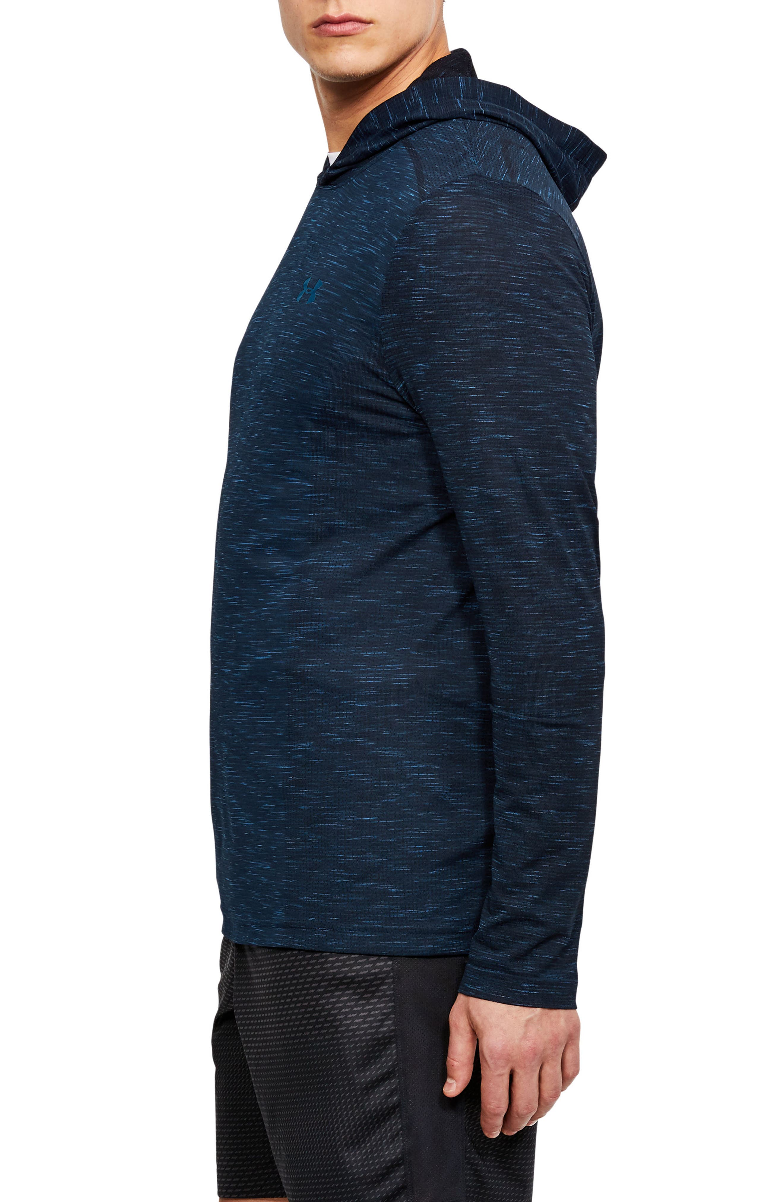 Threadbone Fitted Seamless Hoodie,                             Alternate thumbnail 15, color,