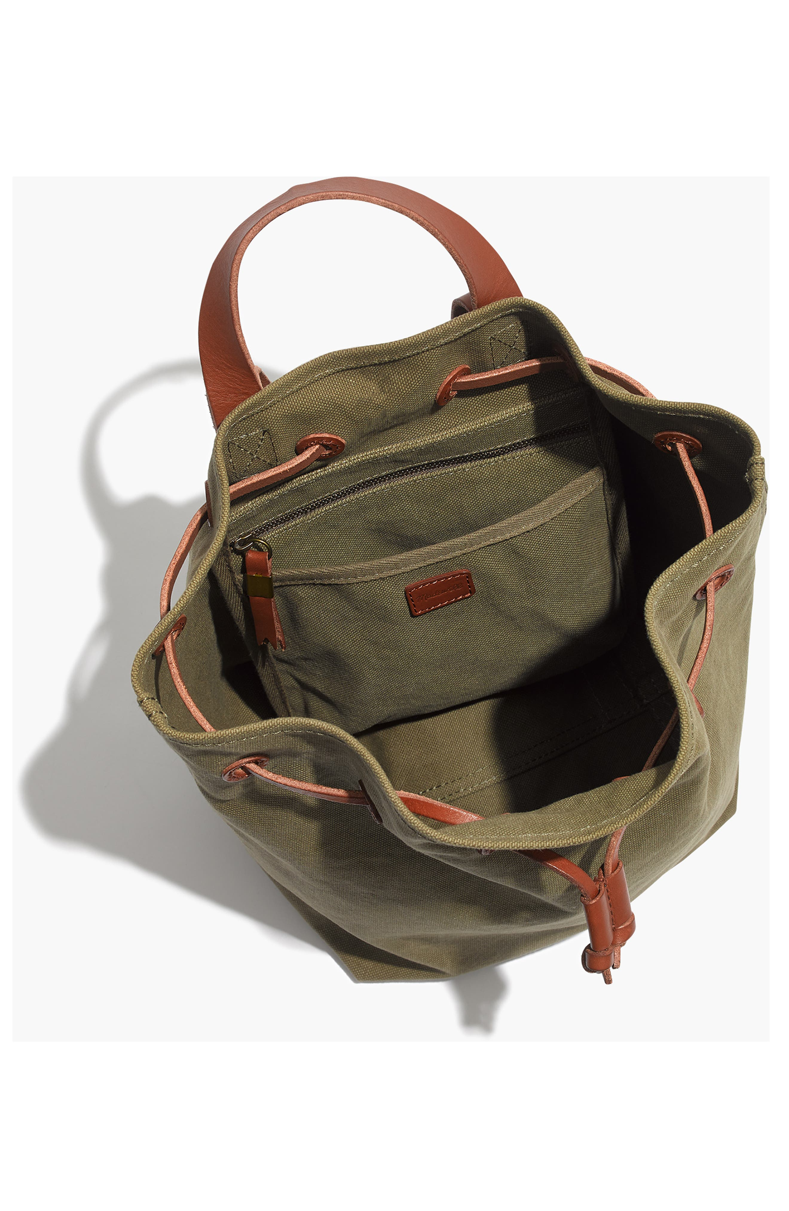 Somerset Canvas Backpack,                             Alternate thumbnail 14, color,