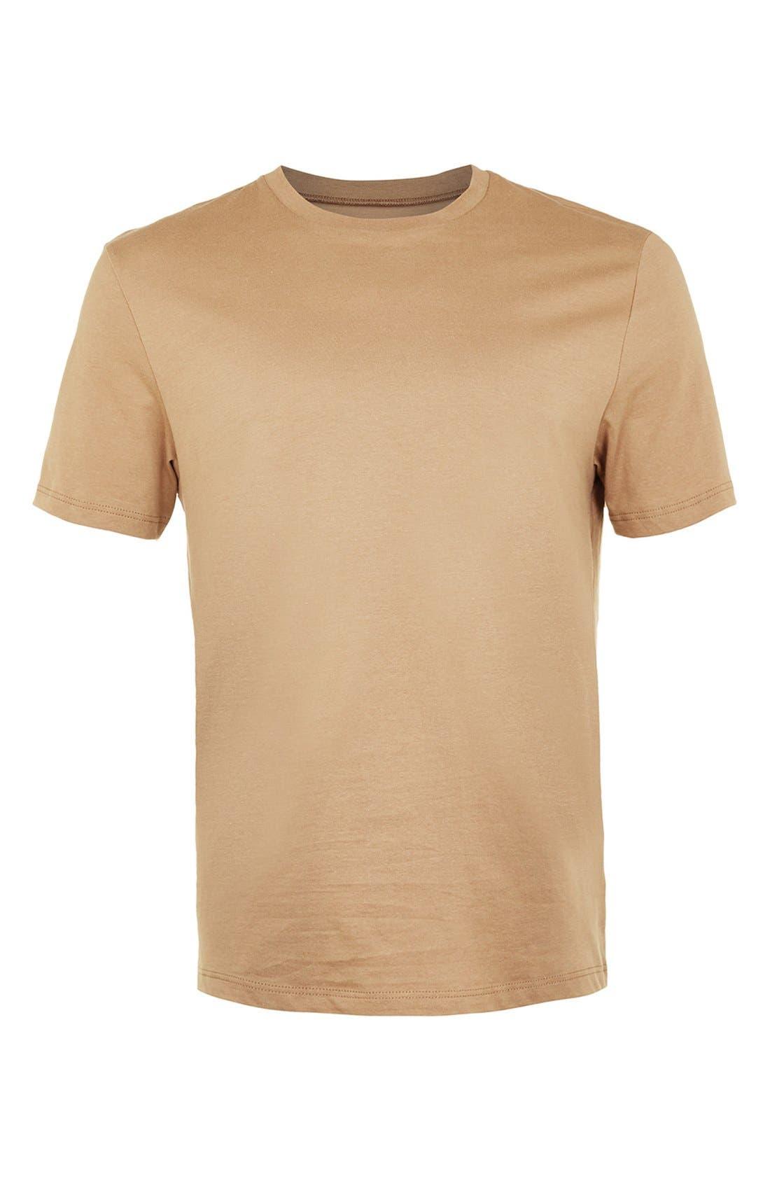 Slim Fit Crewneck T-Shirt,                             Alternate thumbnail 231, color,