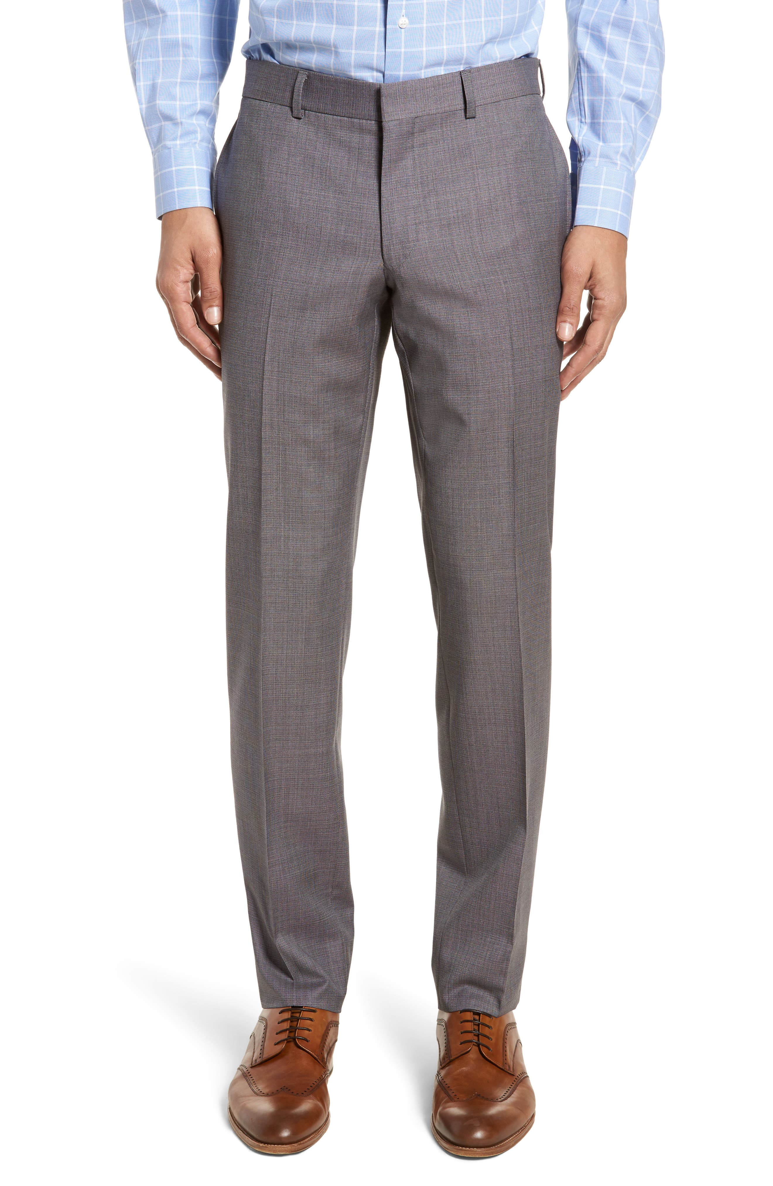 Roger Extra Slim Fit Solid Wool Suit,                             Alternate thumbnail 6, color,