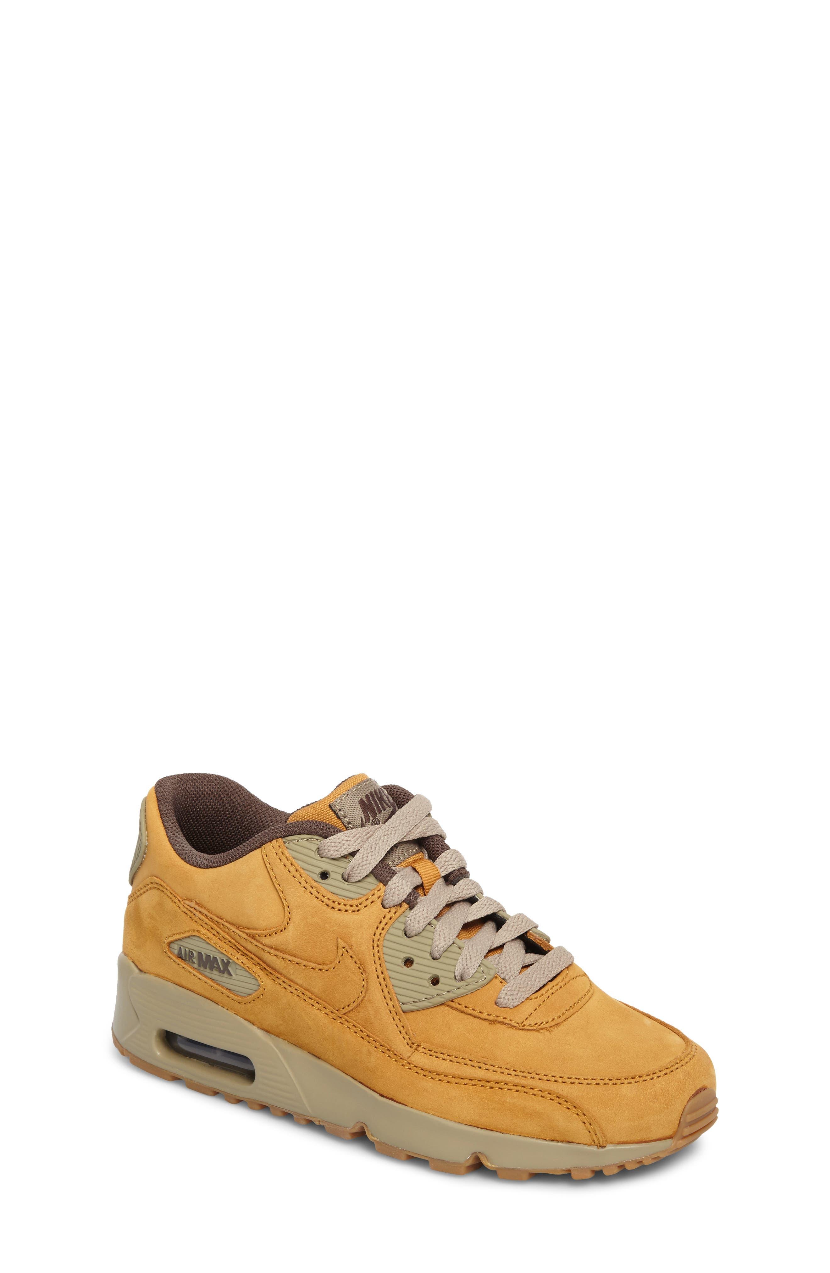 Air Max 90 Winter Premium Sneaker,                         Main,                         color, BRONZE