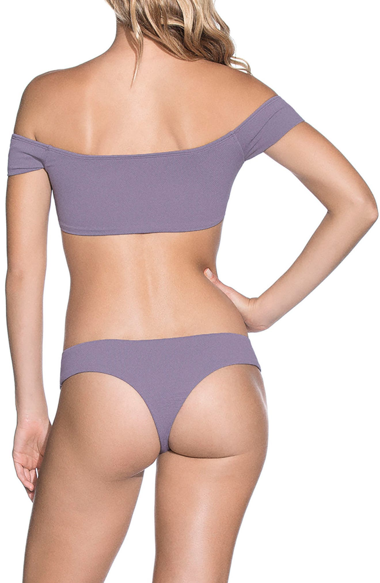 Purple Sage Sublime Signature Reversible Bikini Bottoms,                             Alternate thumbnail 9, color,