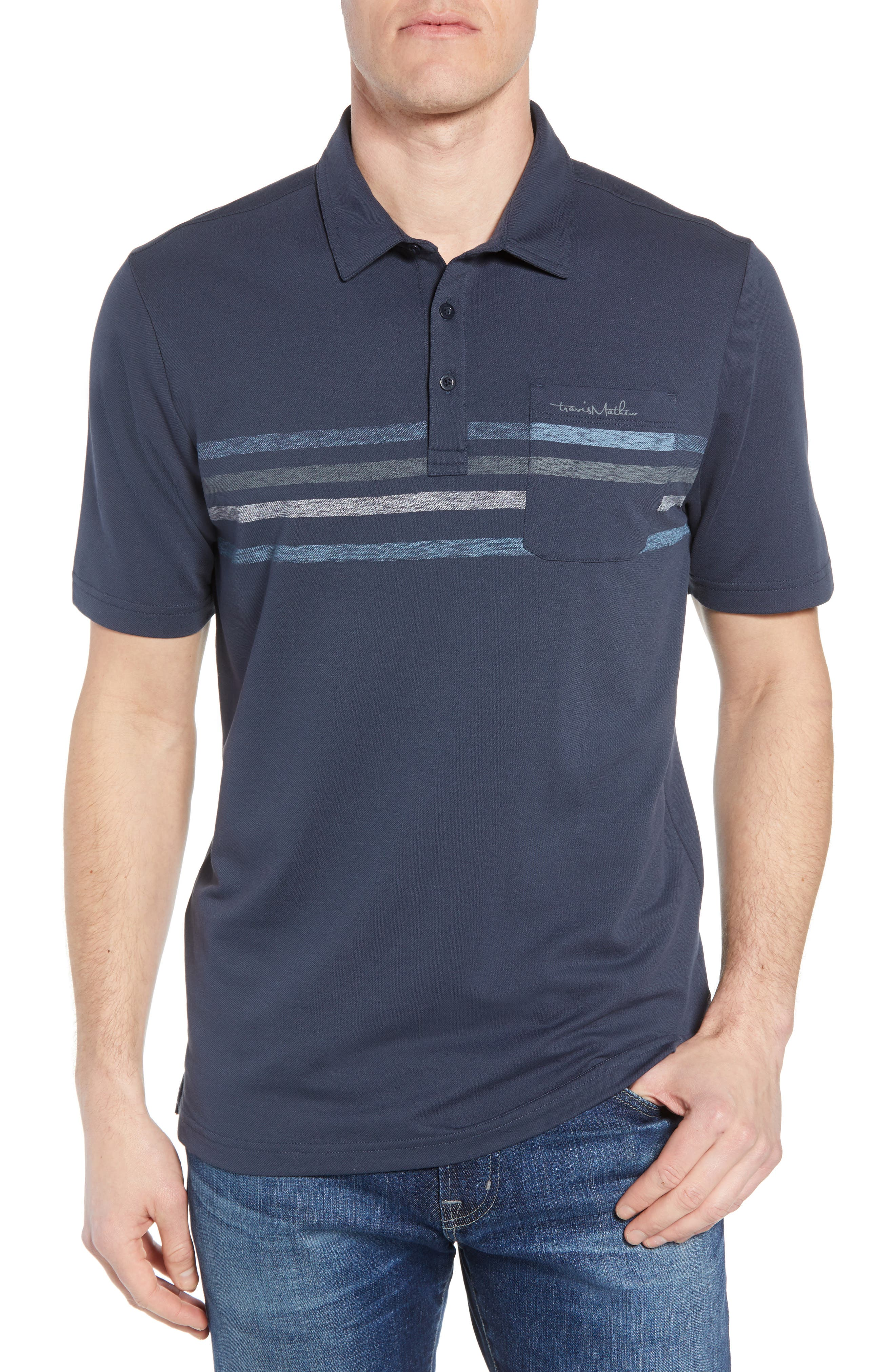 Kartchner Chest Stripe Polo,                             Main thumbnail 1, color,