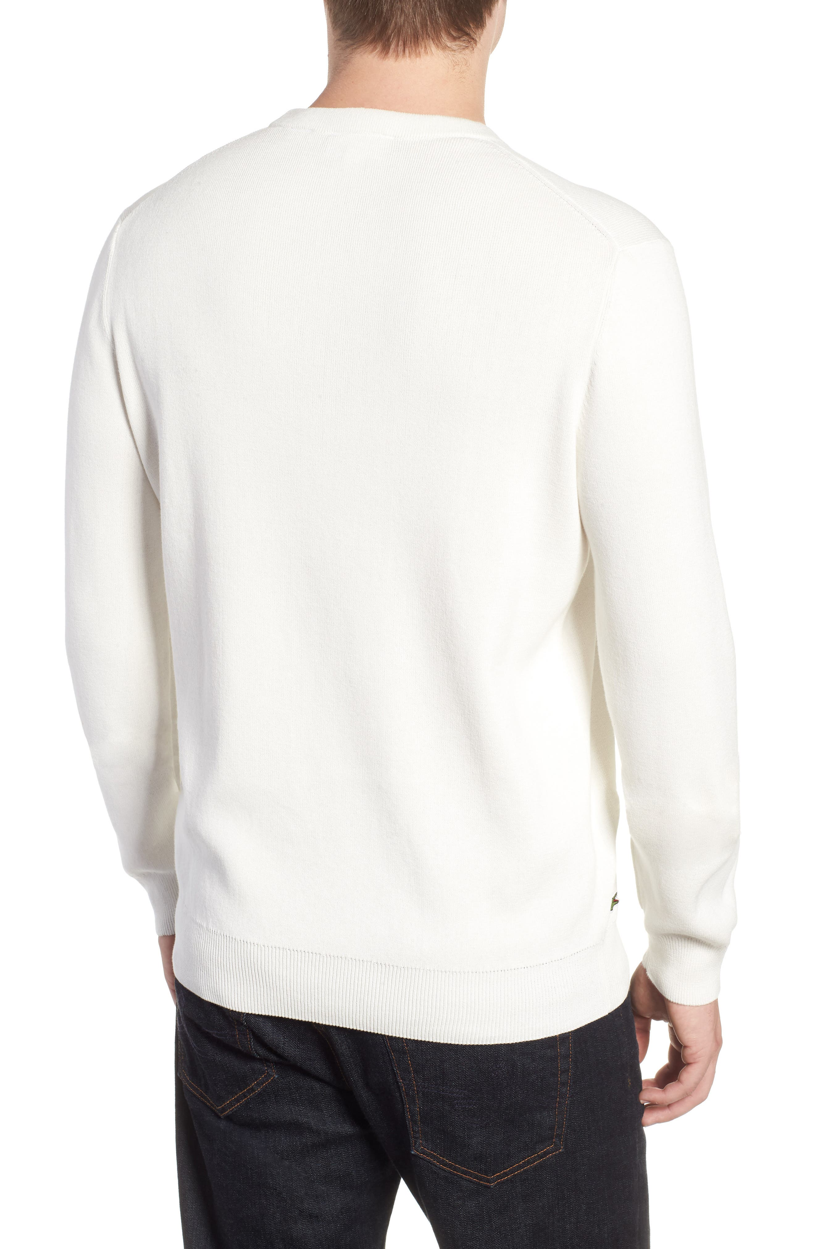 Letter Embroidered Sweater,                             Alternate thumbnail 2, color,                             110