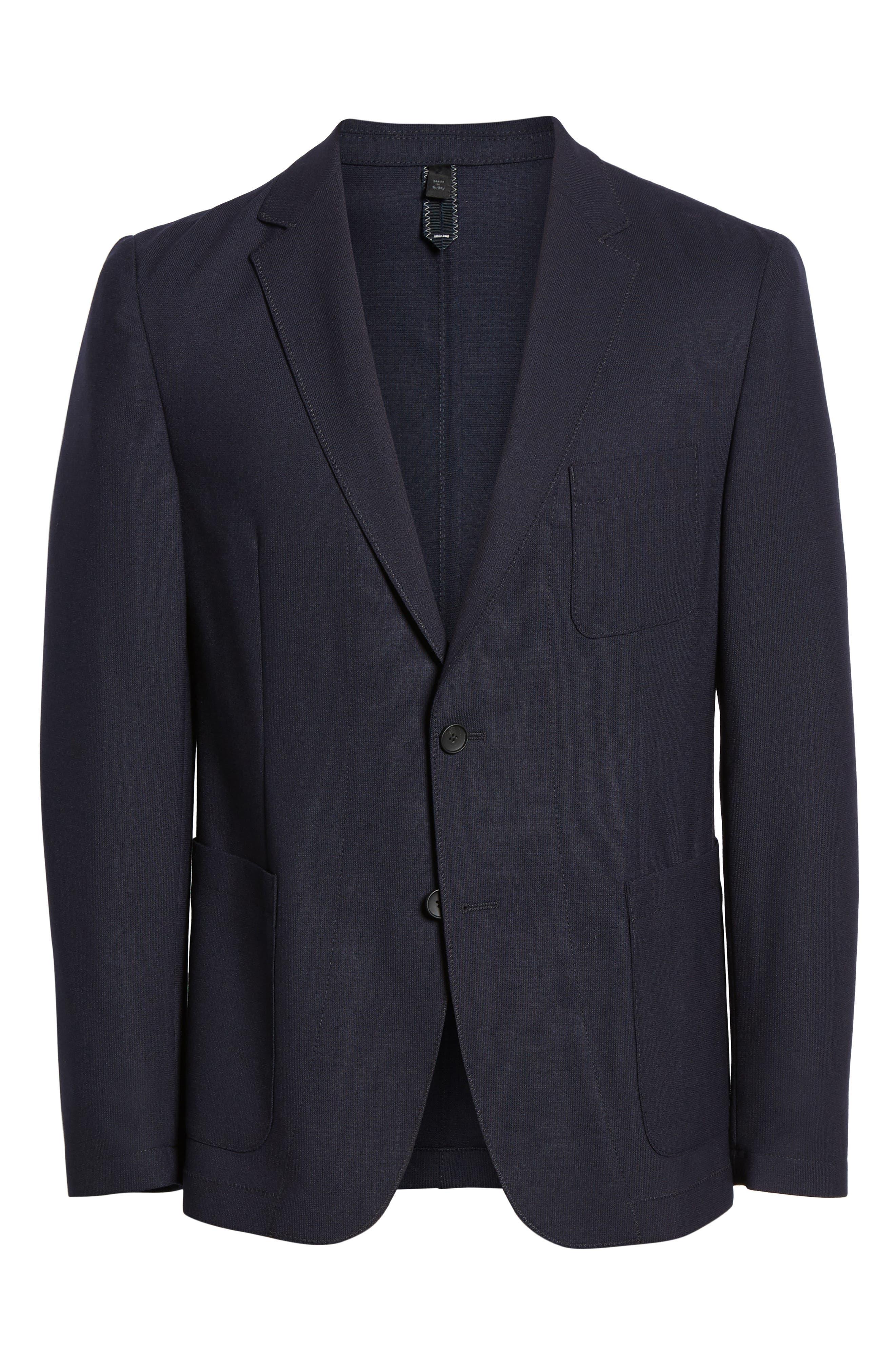 Noswen Slim Fit Sport Coat,                             Alternate thumbnail 5, color,                             BLUE