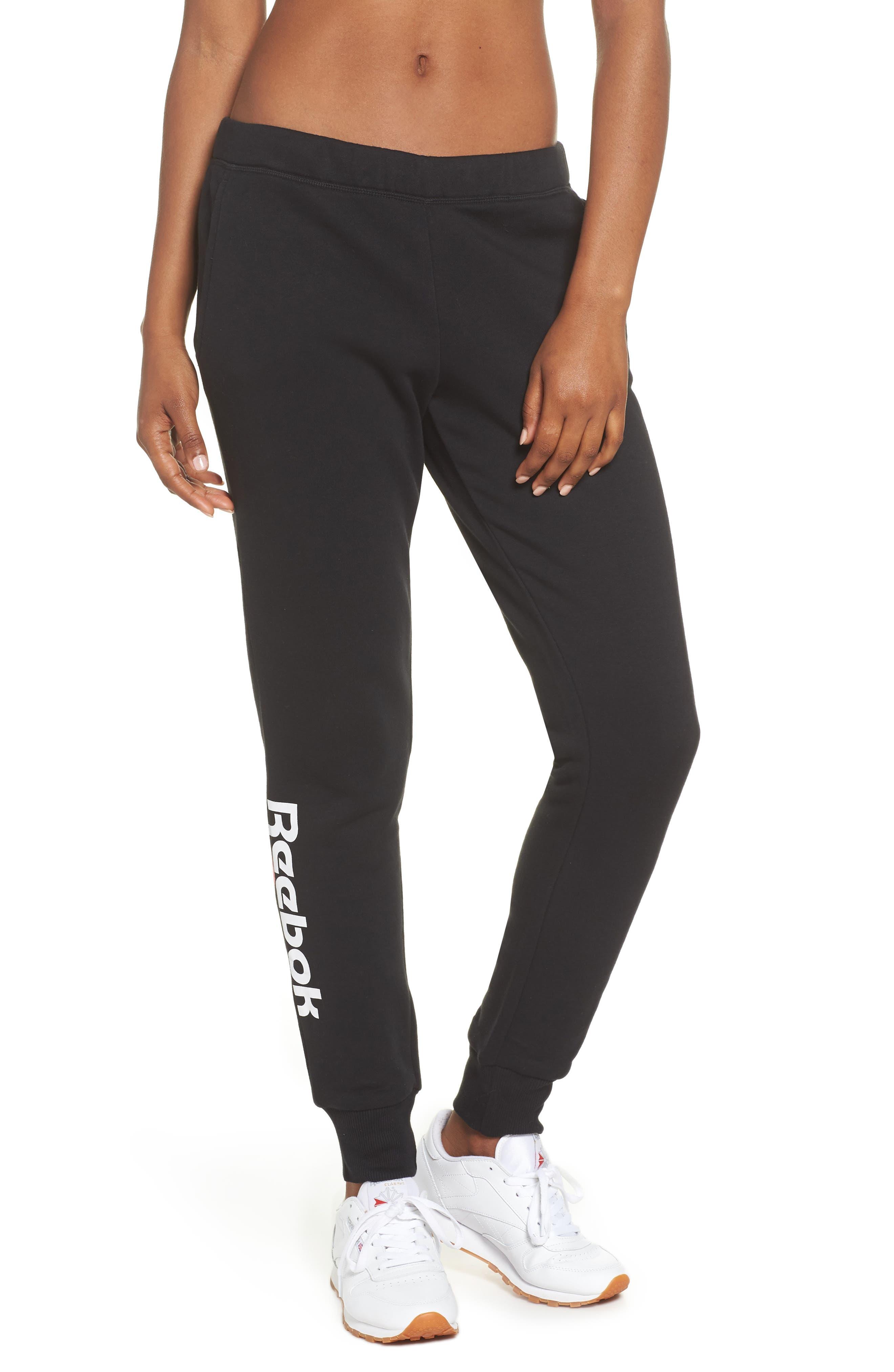 Women's Reebok Logo Sweatpants