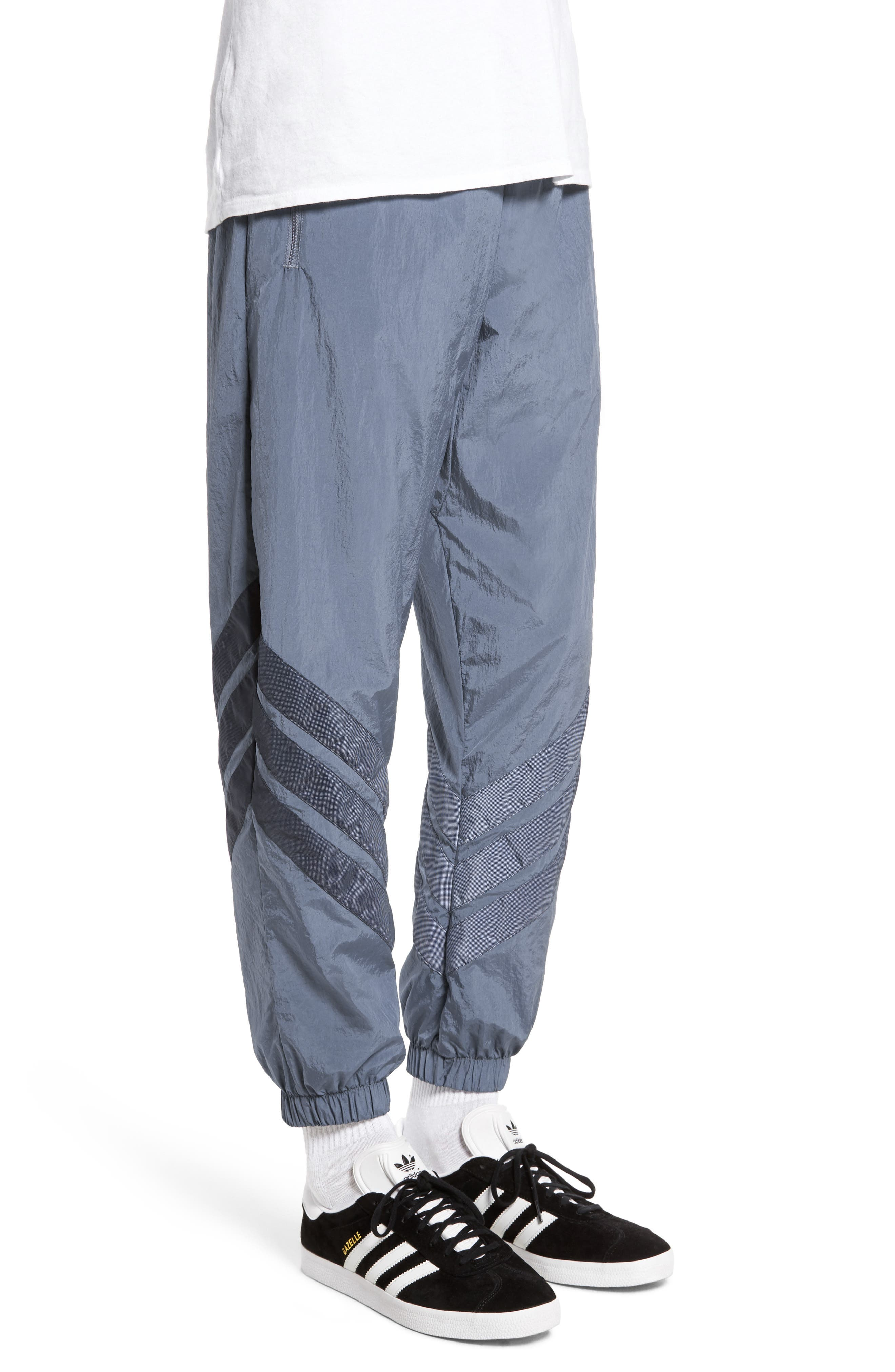 ADIDAS,                             Originals V-Stripe Windpants,                             Alternate thumbnail 3, color,                             422