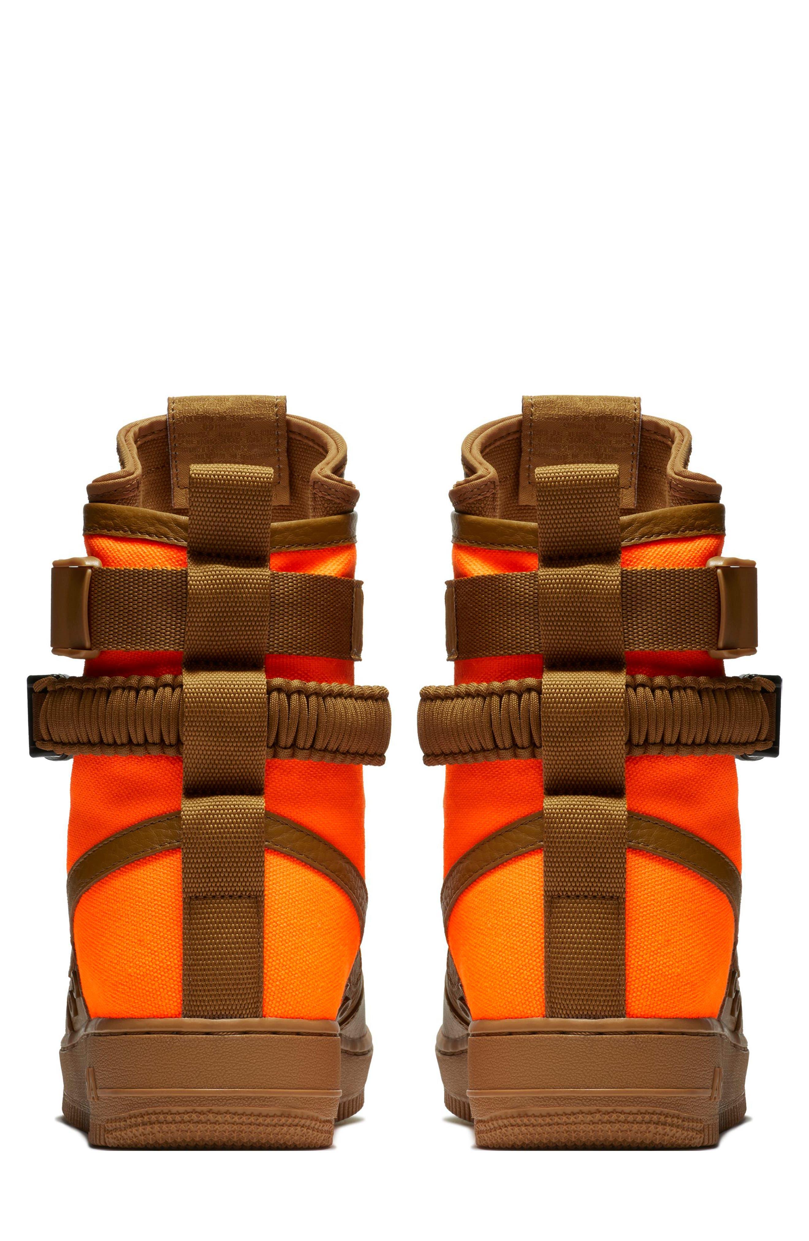 SF Air Force 1 QS High Top Sneaker,                             Alternate thumbnail 2, color,                             200