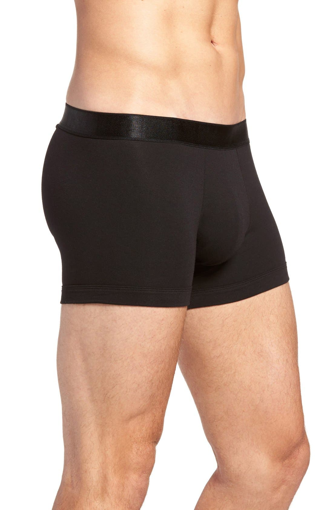 Micromodal Trunks,                             Alternate thumbnail 3, color,                             001