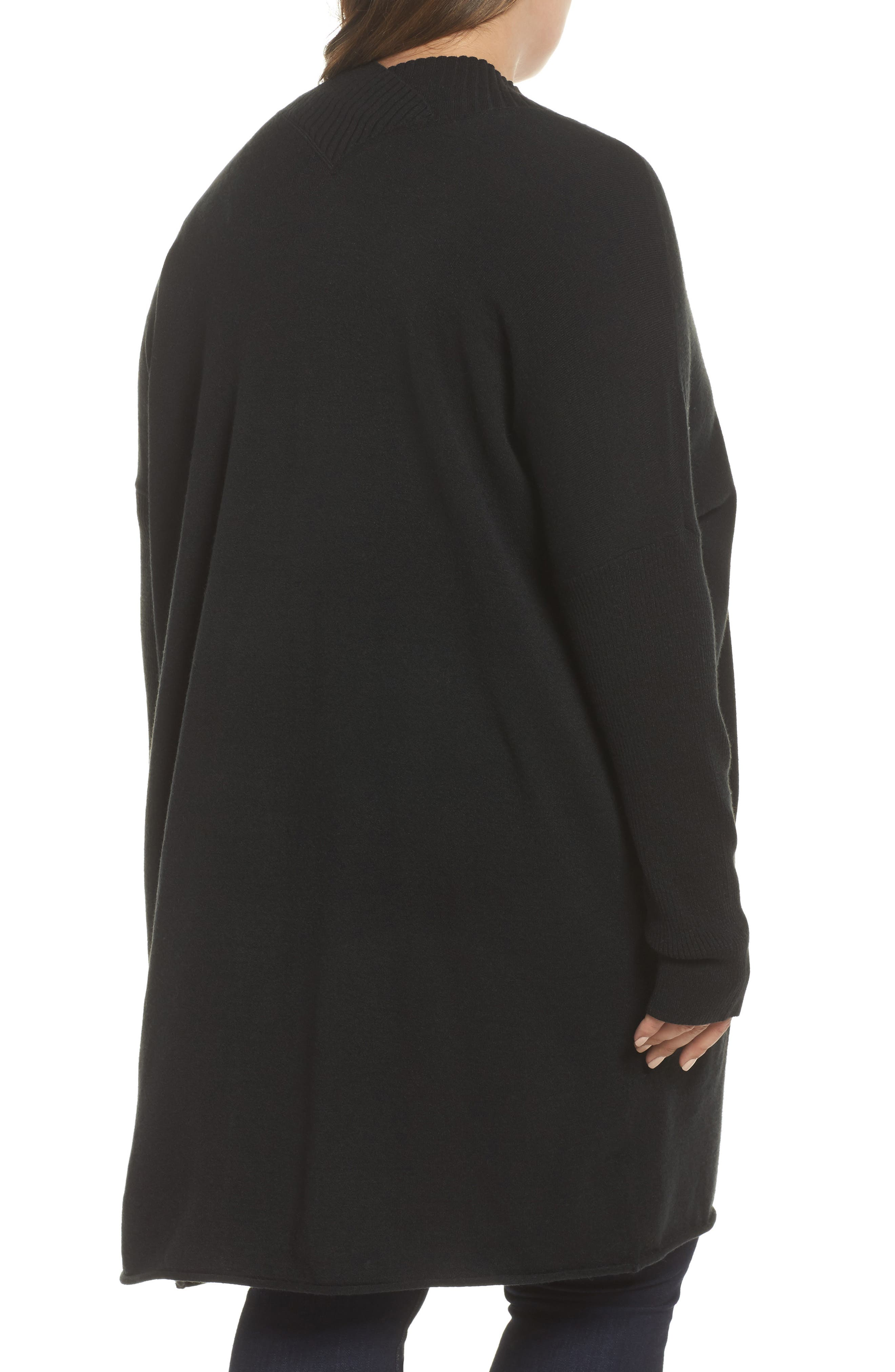 Off-Duty Long Open Front Cardigan,                             Alternate thumbnail 4, color,