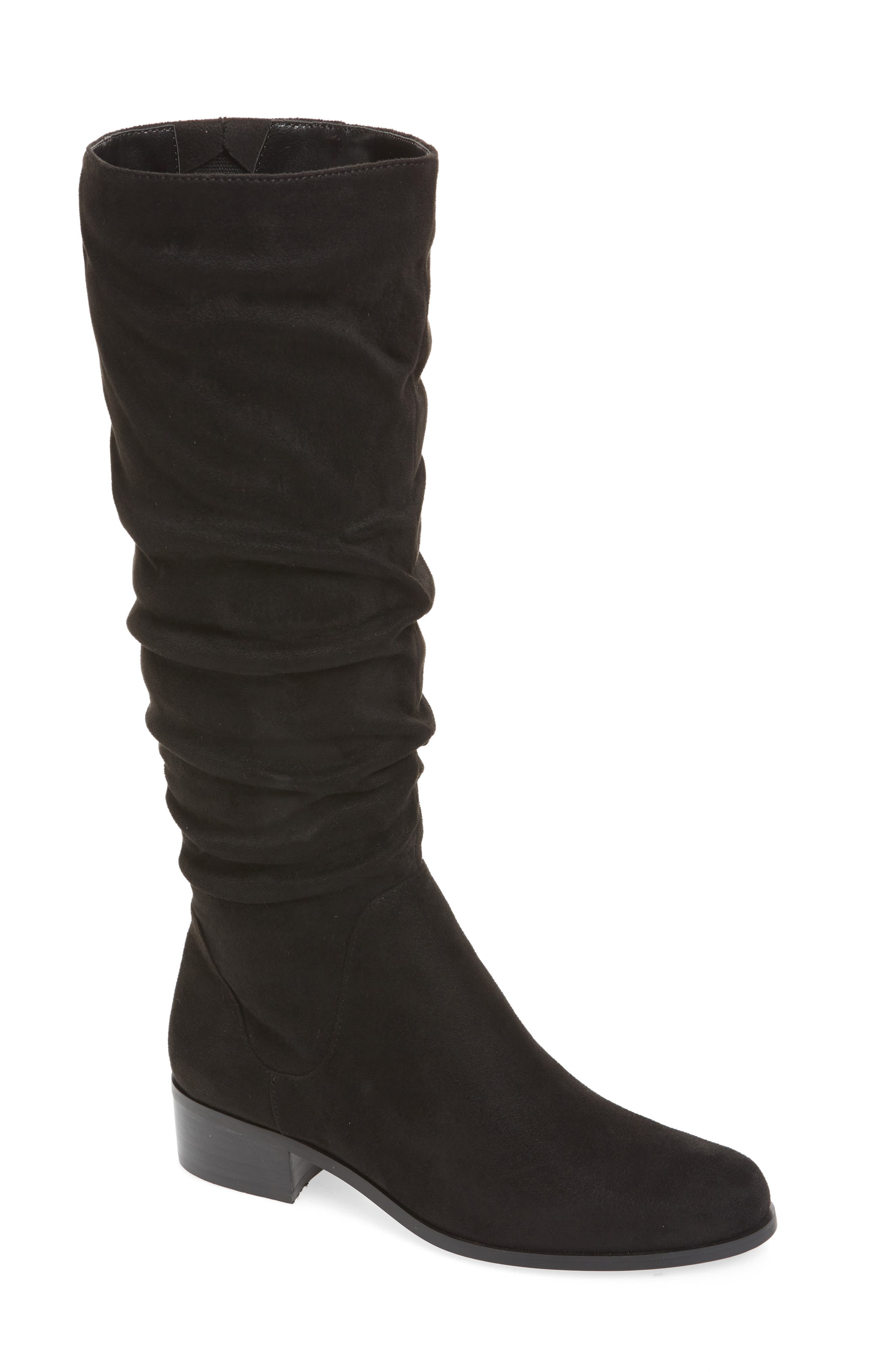 Guru Slouchy Knee High Boot,                             Main thumbnail 1, color,                             001