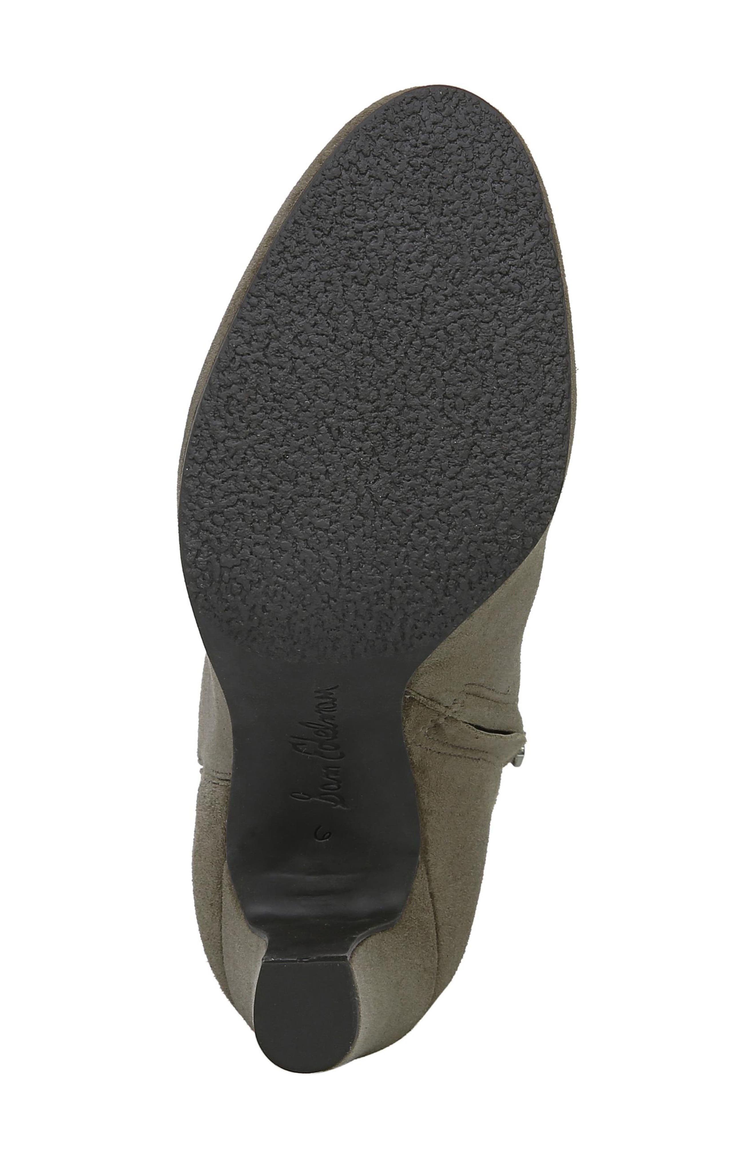 Sianna Bootie,                             Alternate thumbnail 6, color,                             FLINT GREY SUEDE