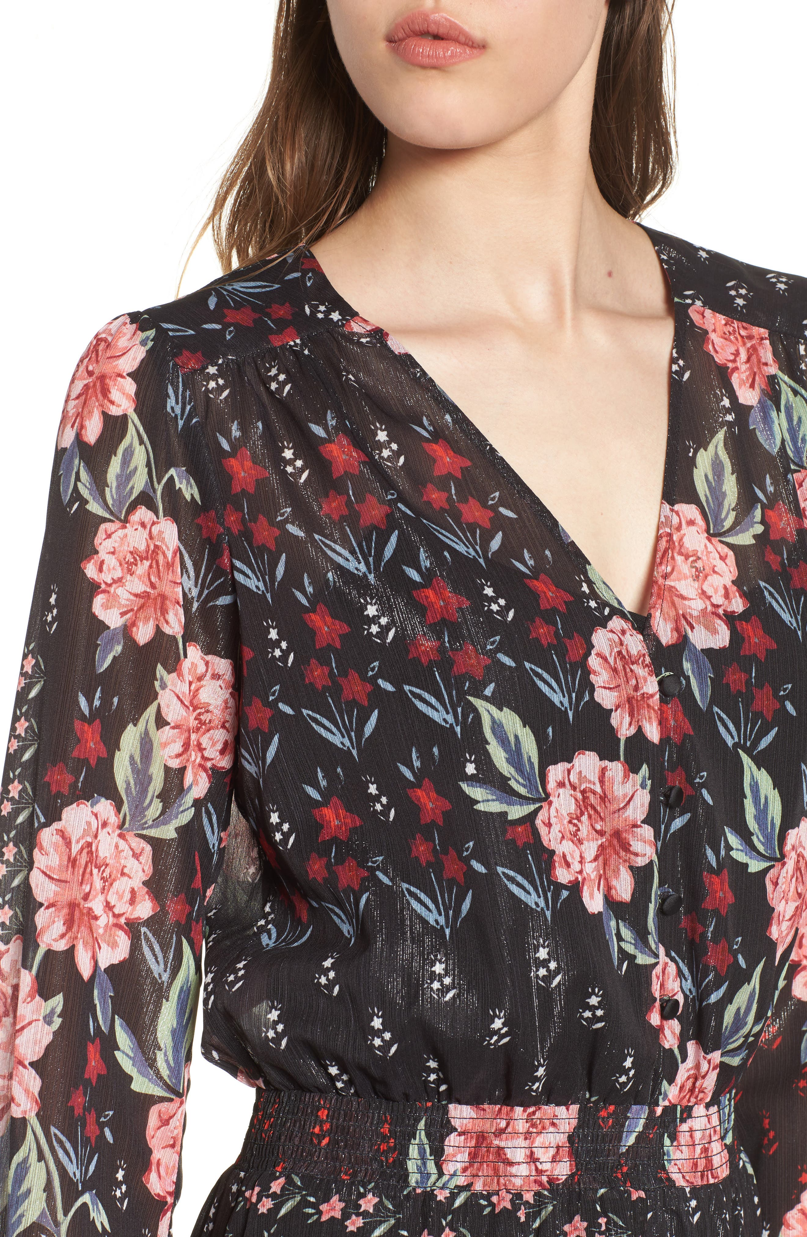 Abby Maxi Dress,                             Alternate thumbnail 4, color,