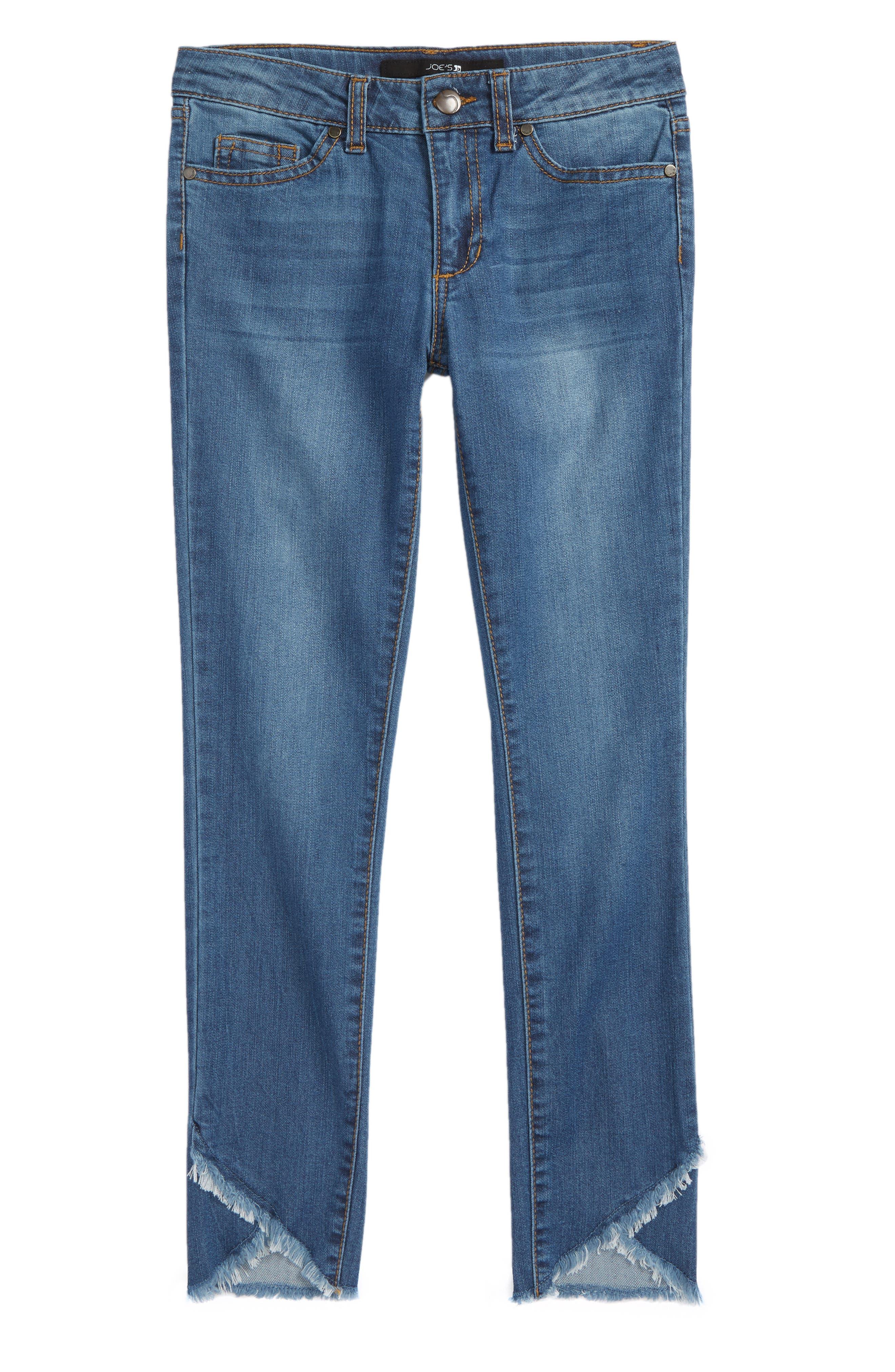 JOE'S The Markie Ankle Tulip Hem Skinny Jeans, Main, color, 499