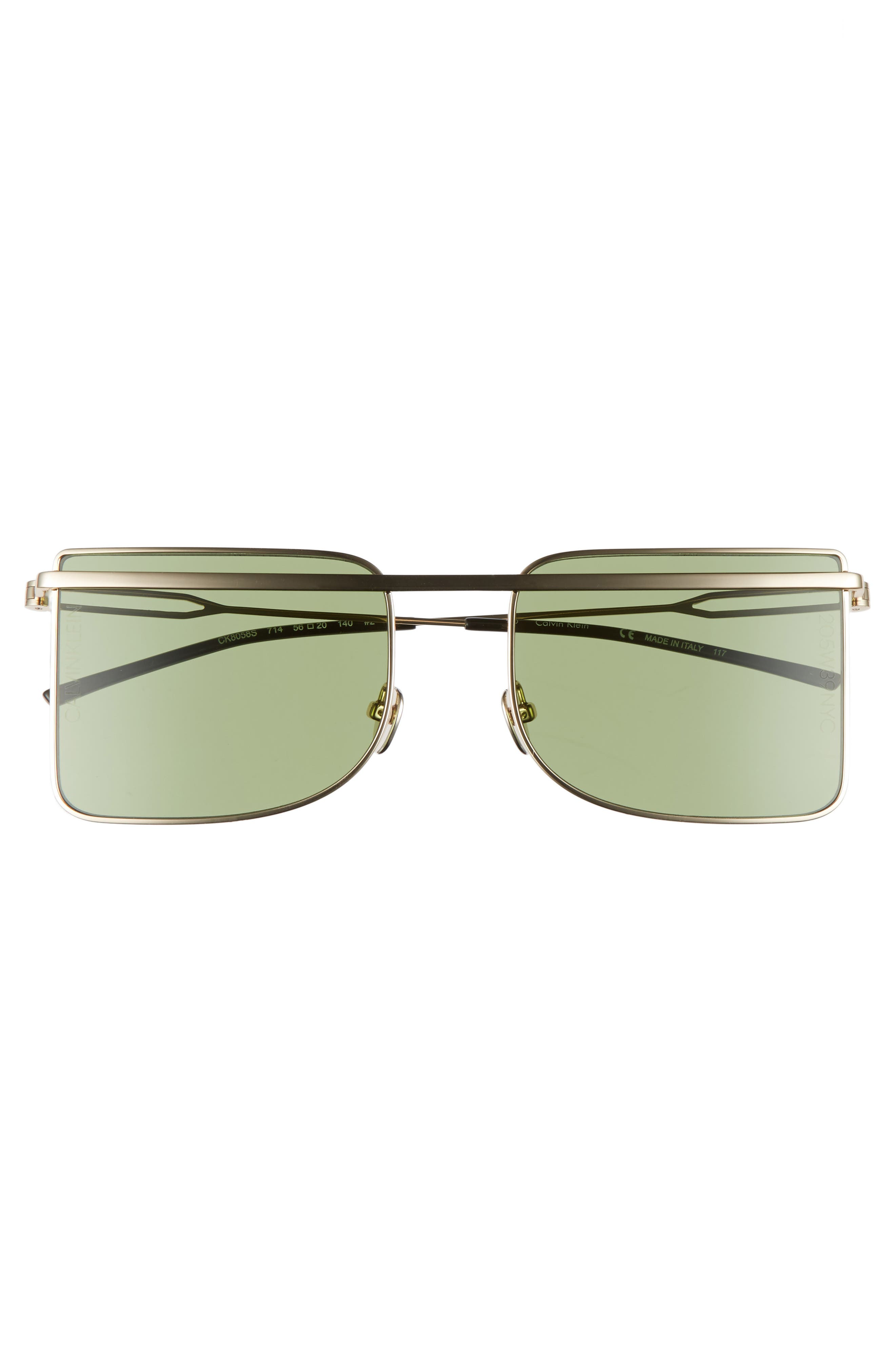 205W39NYC 56mm Butterfly Sunglasses,                             Alternate thumbnail 6, color,