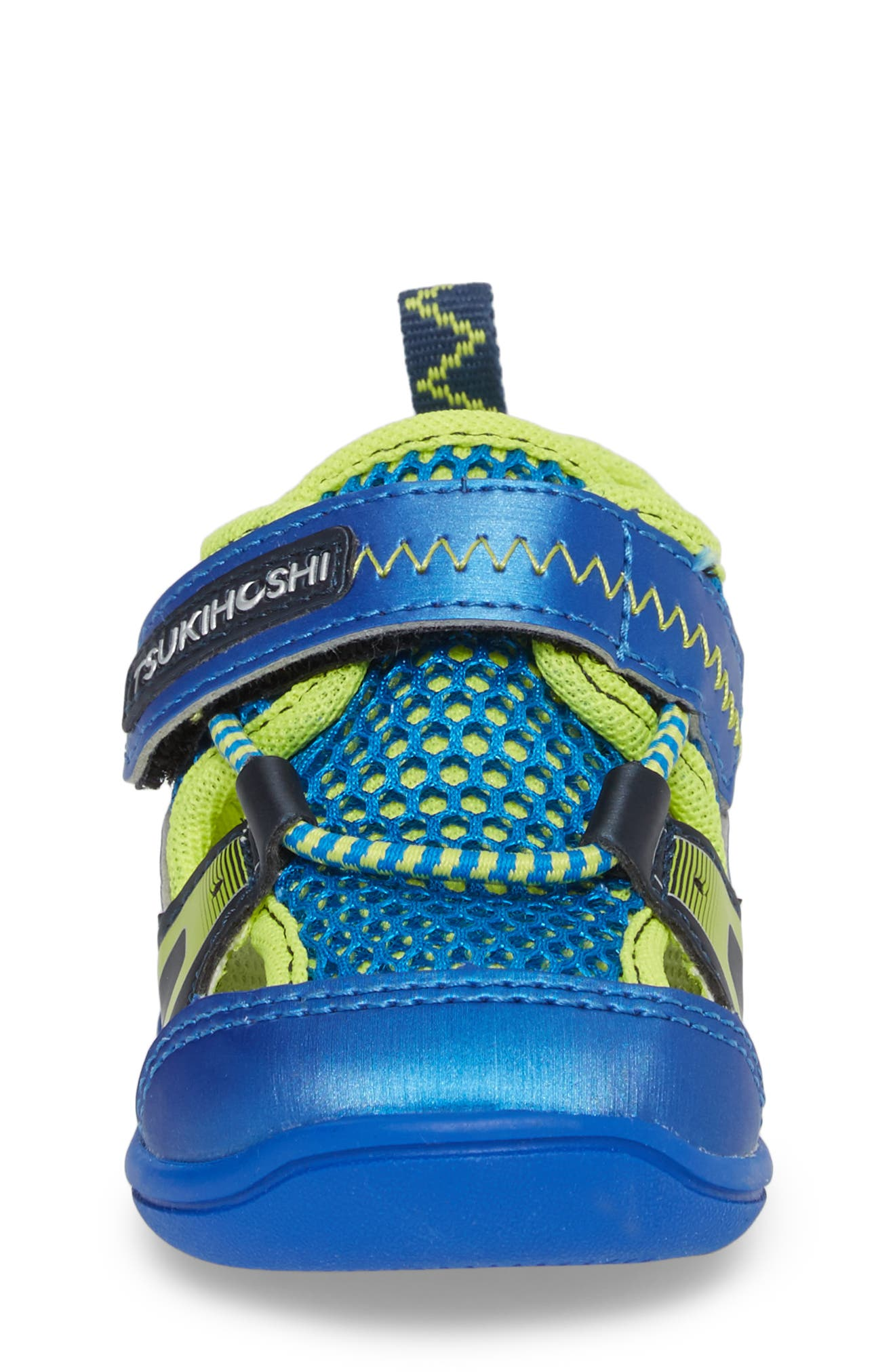 Ibiza Washable Sandal,                             Alternate thumbnail 4, color,                             ROYAL/ LIME