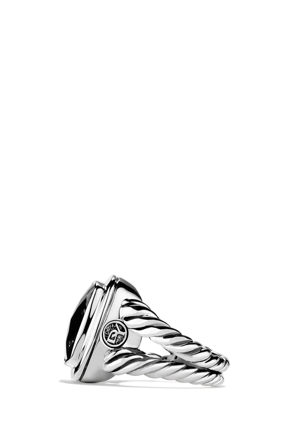 'Albion' Ring with Semiprecious Stone & Diamonds,                             Alternate thumbnail 2, color,                             001