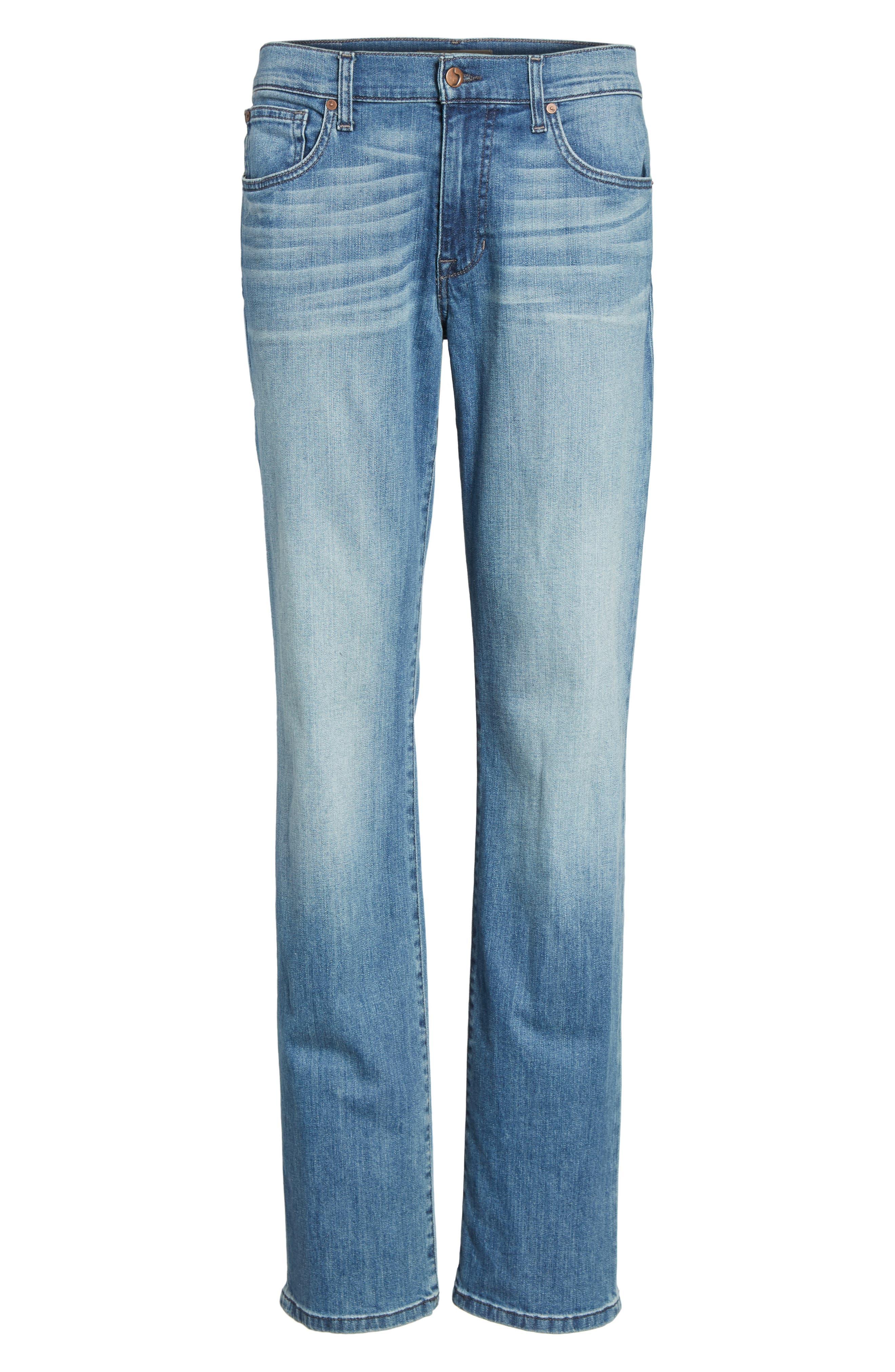 Slim Fit Jeans,                             Alternate thumbnail 6, color,                             135
