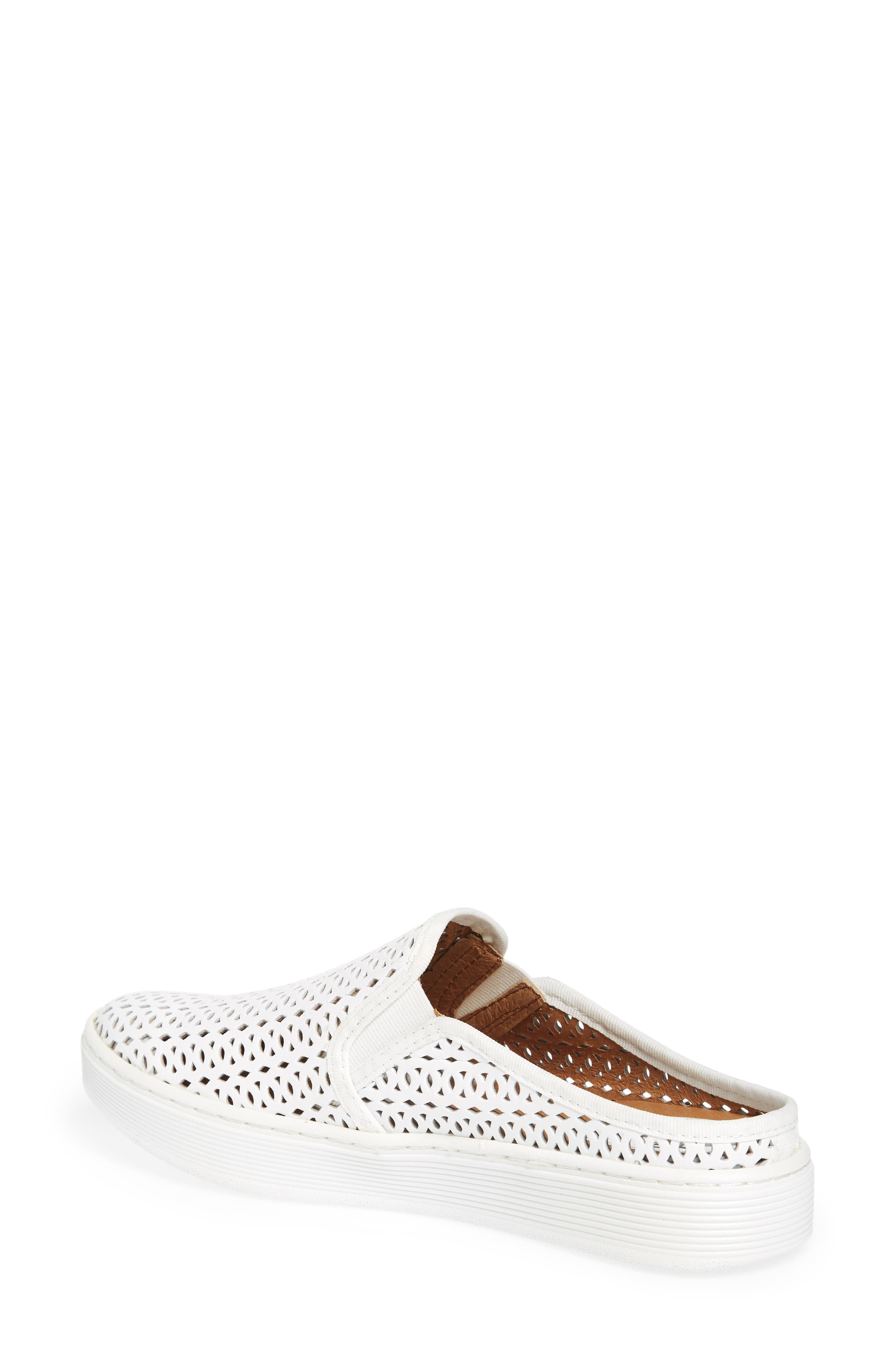 Somers II Sneaker,                             Alternate thumbnail 2, color,                             WHITE LEATHER
