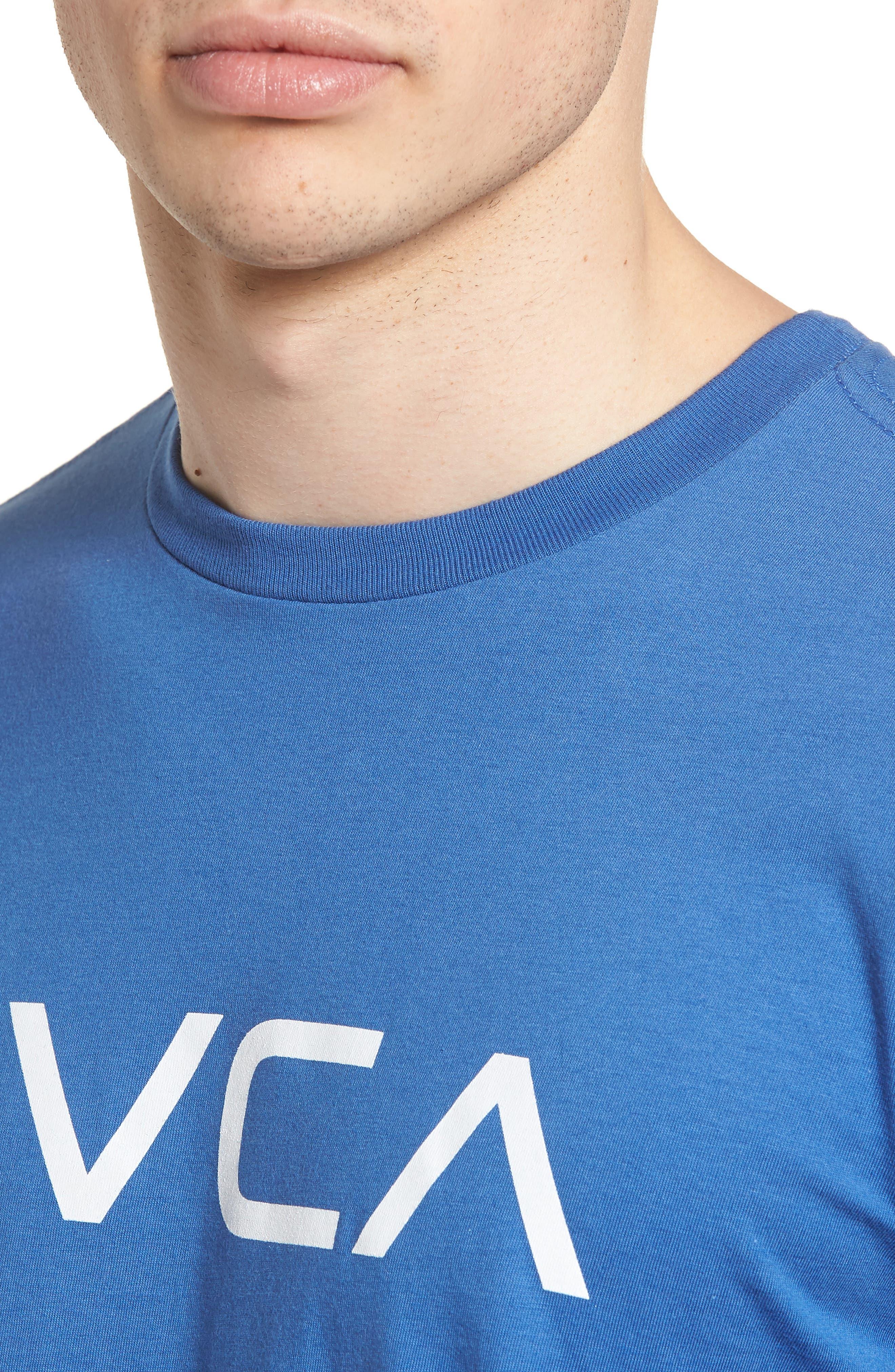 Big RVCA Graphic T-Shirt,                             Alternate thumbnail 4, color,                             451
