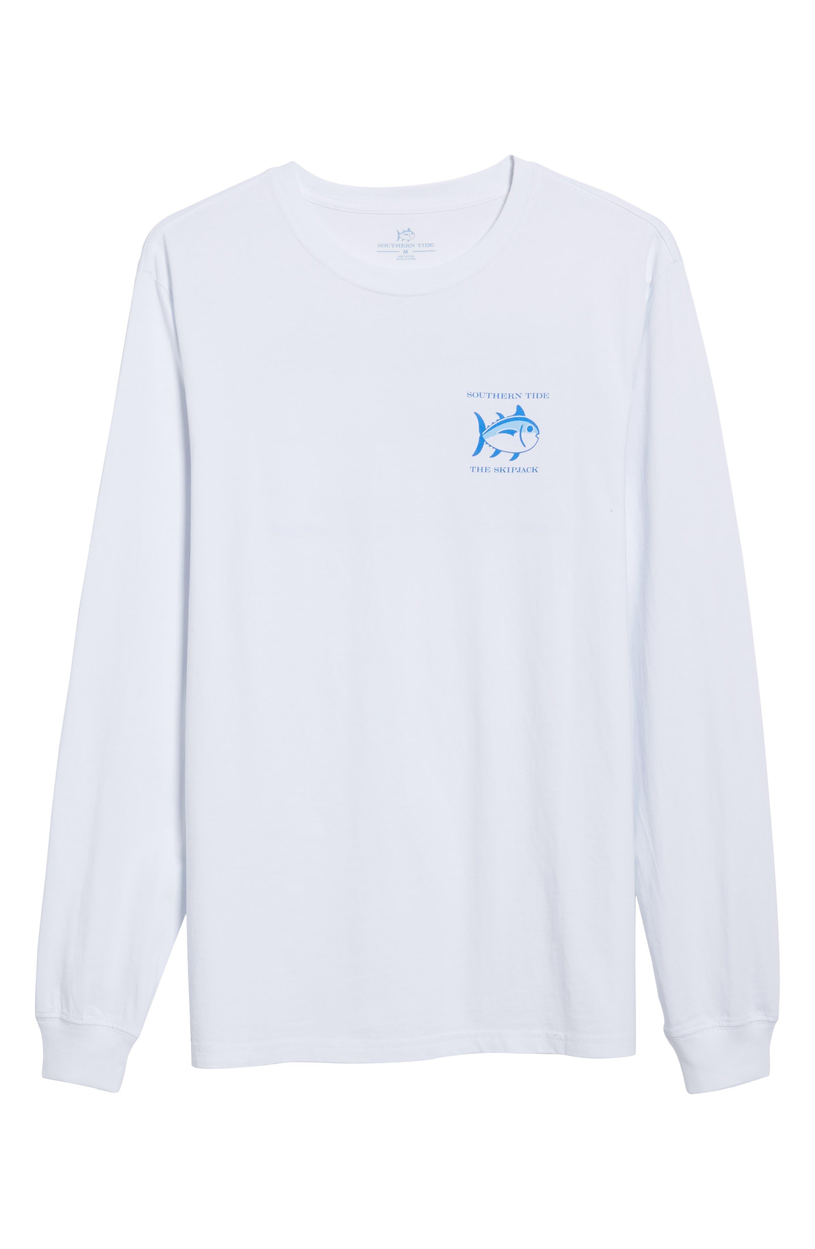 'Skipjack'Long Sleeve Graphic T-Shirt,                             Main thumbnail 1, color,                             107