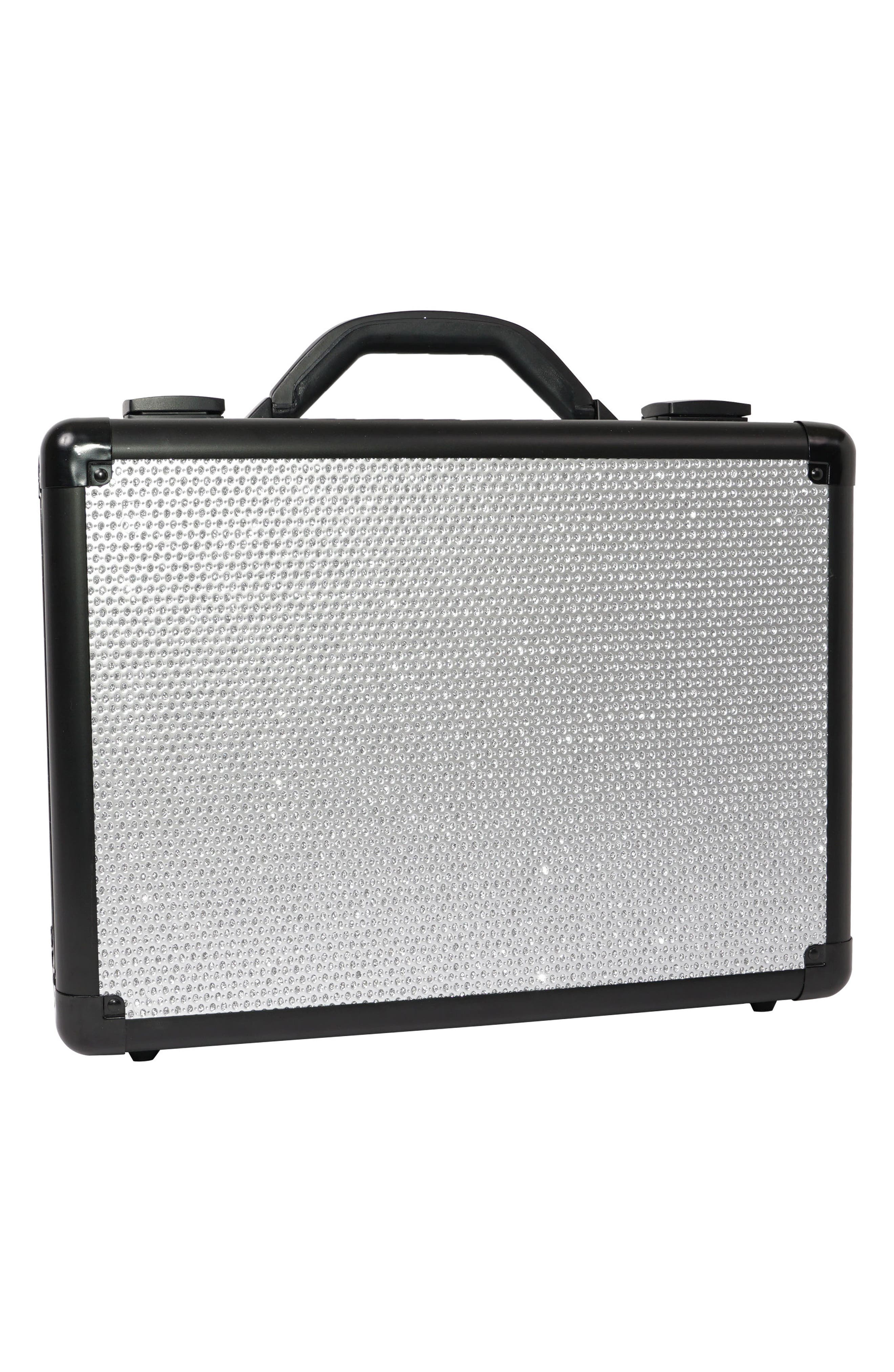 SlayCase<sup>™</sup> Vanity Travel Case,                             Alternate thumbnail 2, color,                             SPARKLING SILVER