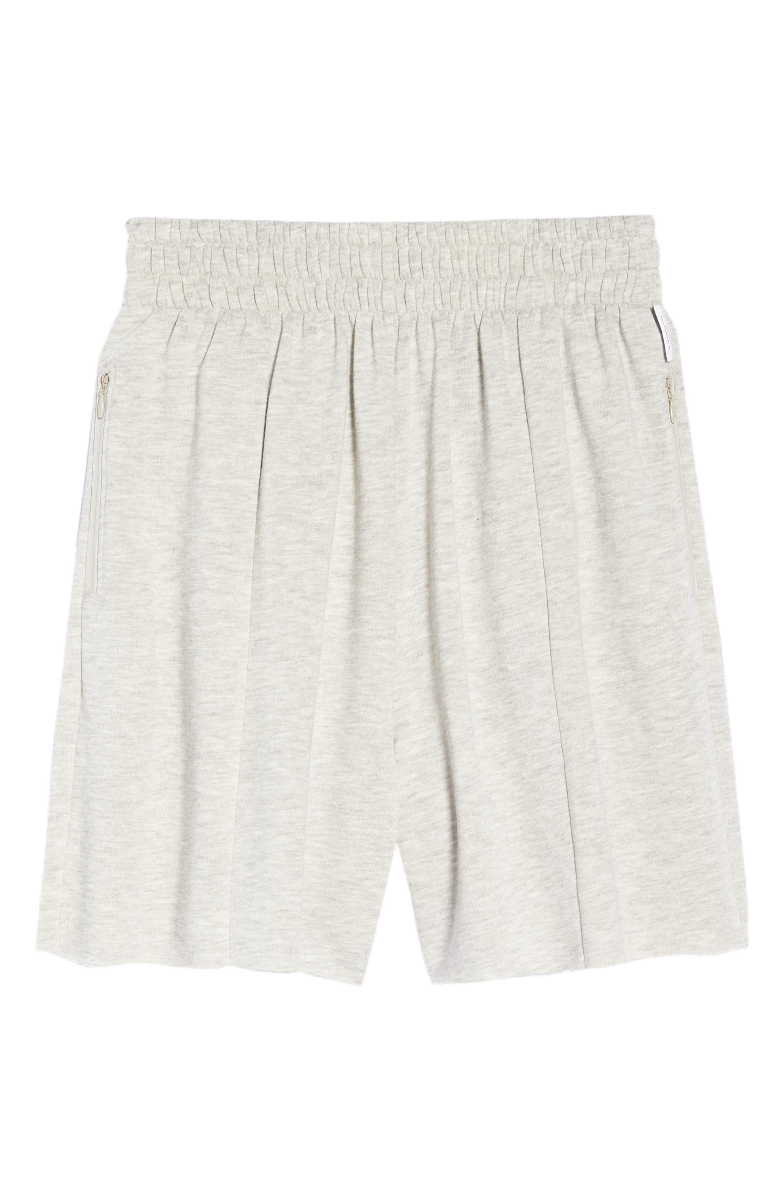 Bermuda Lounge Shorts,                             Alternate thumbnail 6, color,                             PEBBLE HEATHER