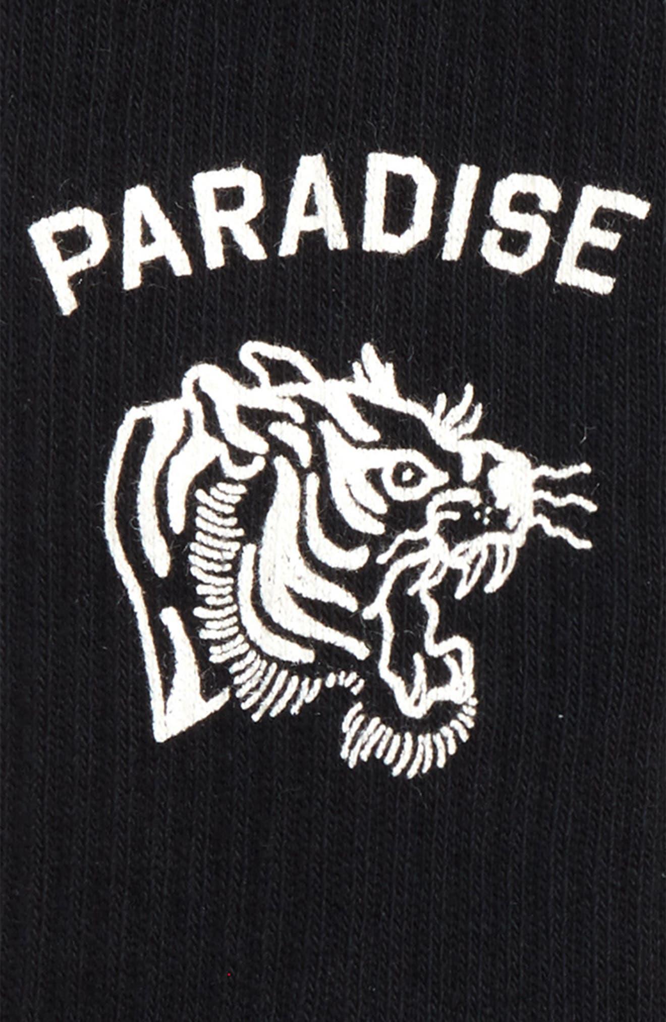 Paradise Socks,                             Alternate thumbnail 3, color,                             BLACK