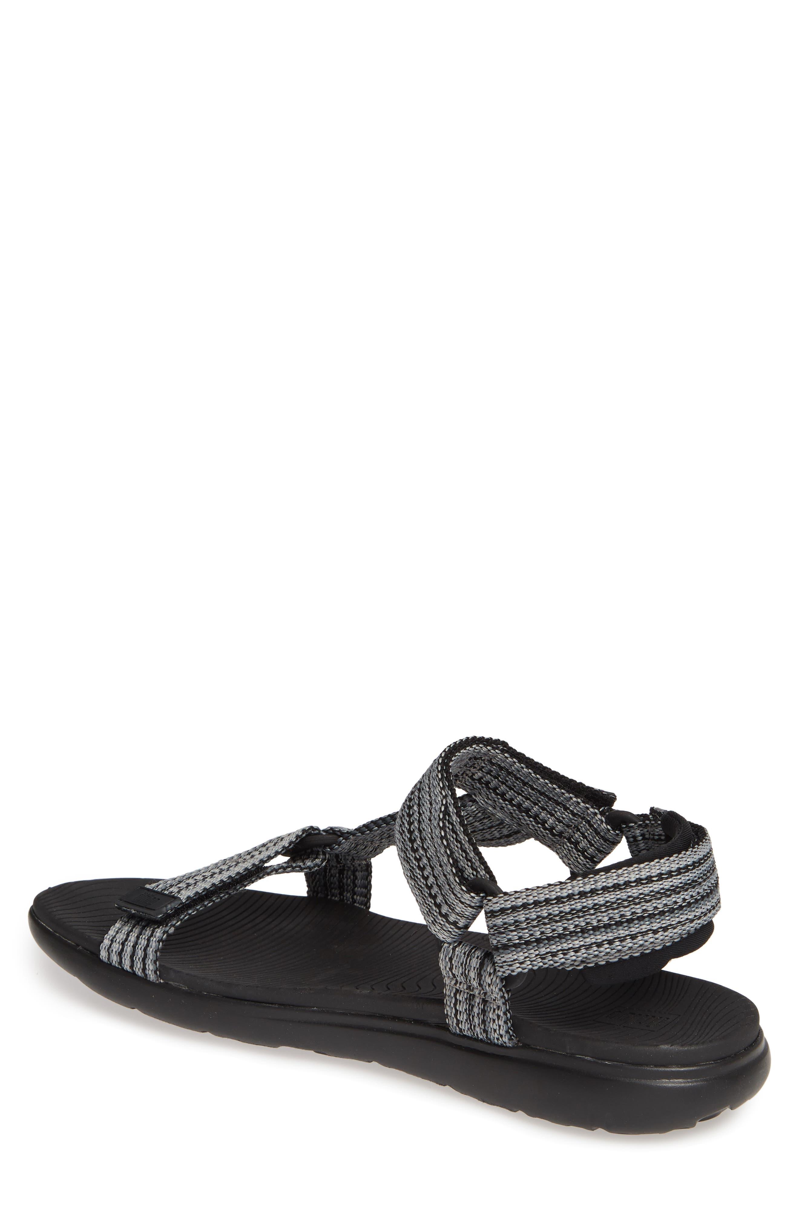 Freshweave Sport Sandal,                             Alternate thumbnail 2, color,                             BLACK KNIT