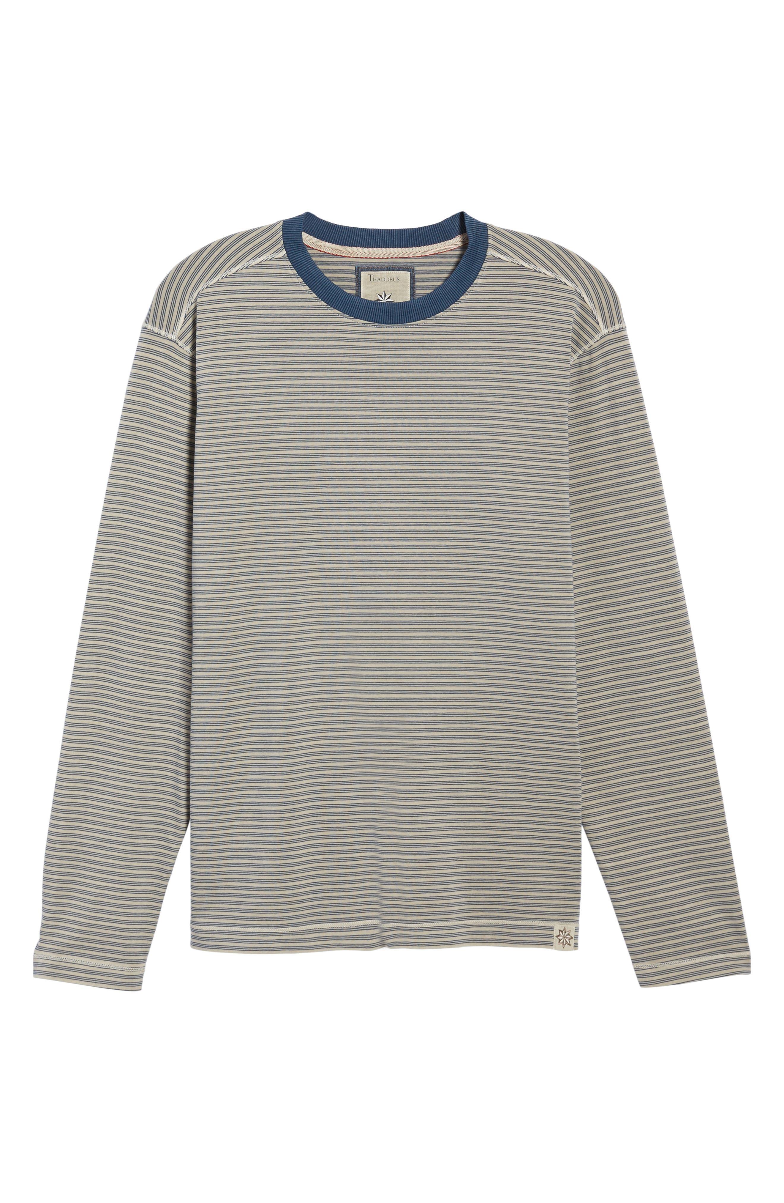 Iverson Long Sleeve Striped T-Shirt,                             Alternate thumbnail 6, color,                             290