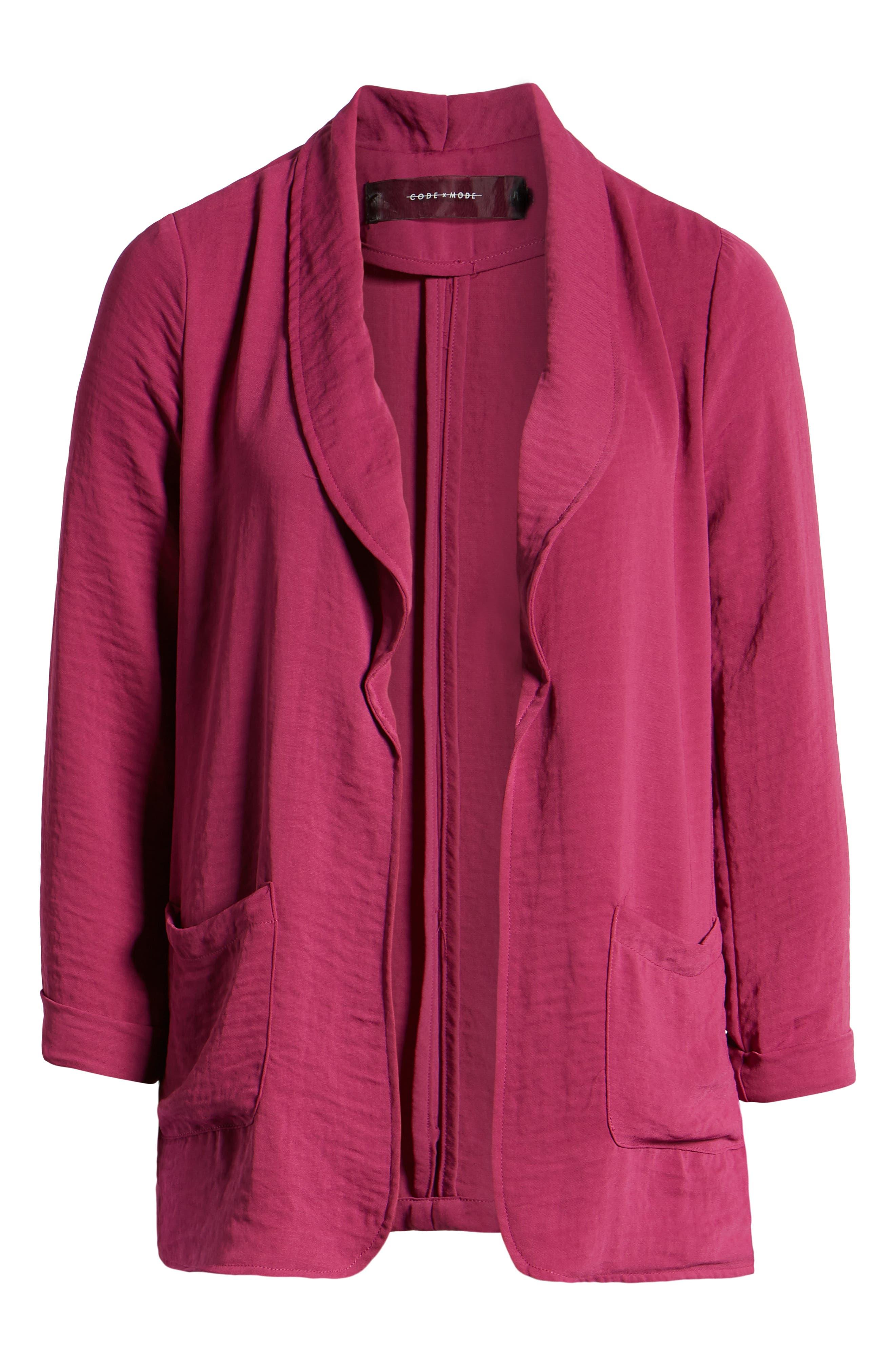 CODEXMODE,                             Shawl Collar Jacket,                             Alternate thumbnail 6, color,                             650
