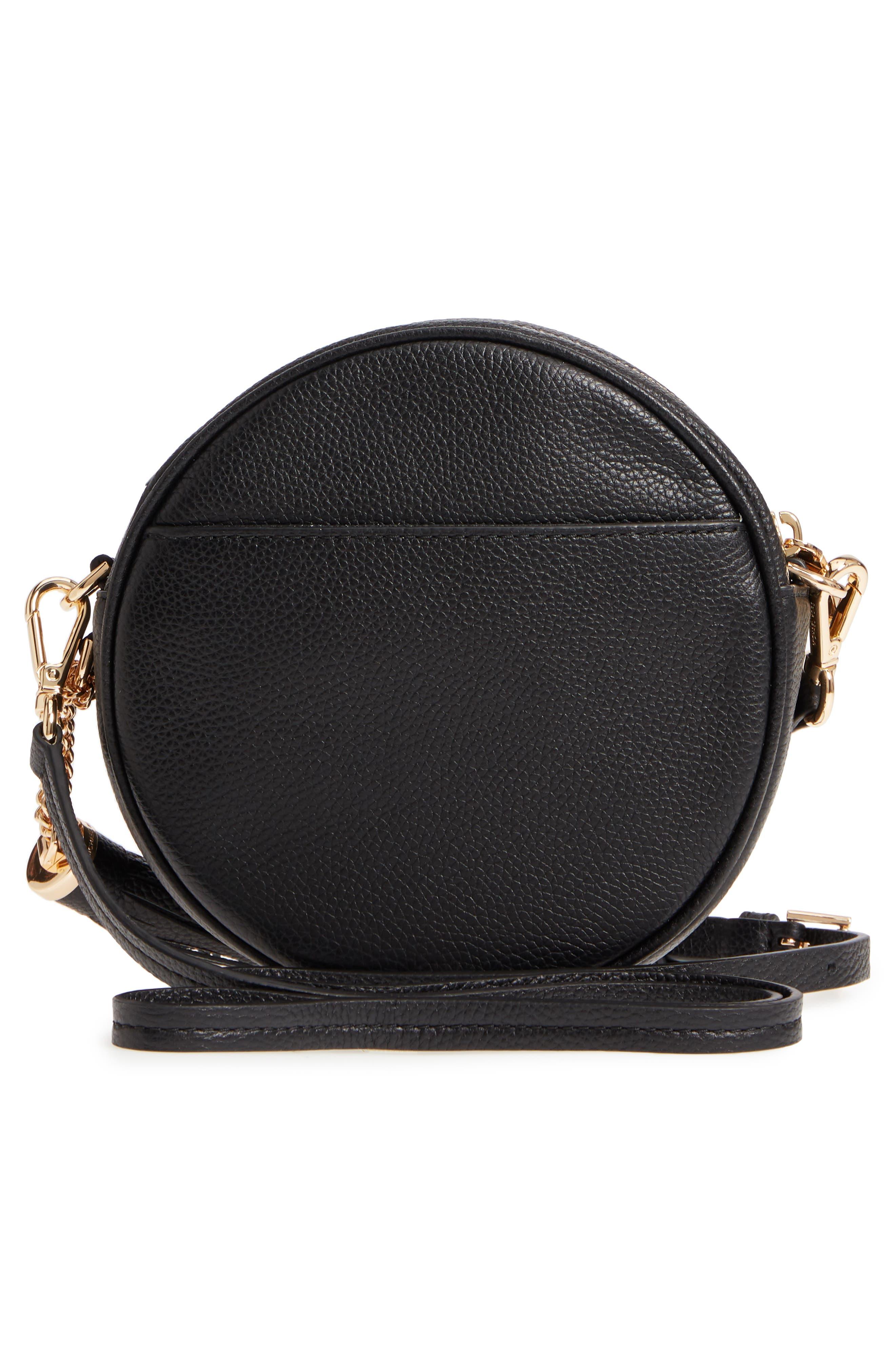 Medium Leather Canteen Bag,                             Alternate thumbnail 7, color,