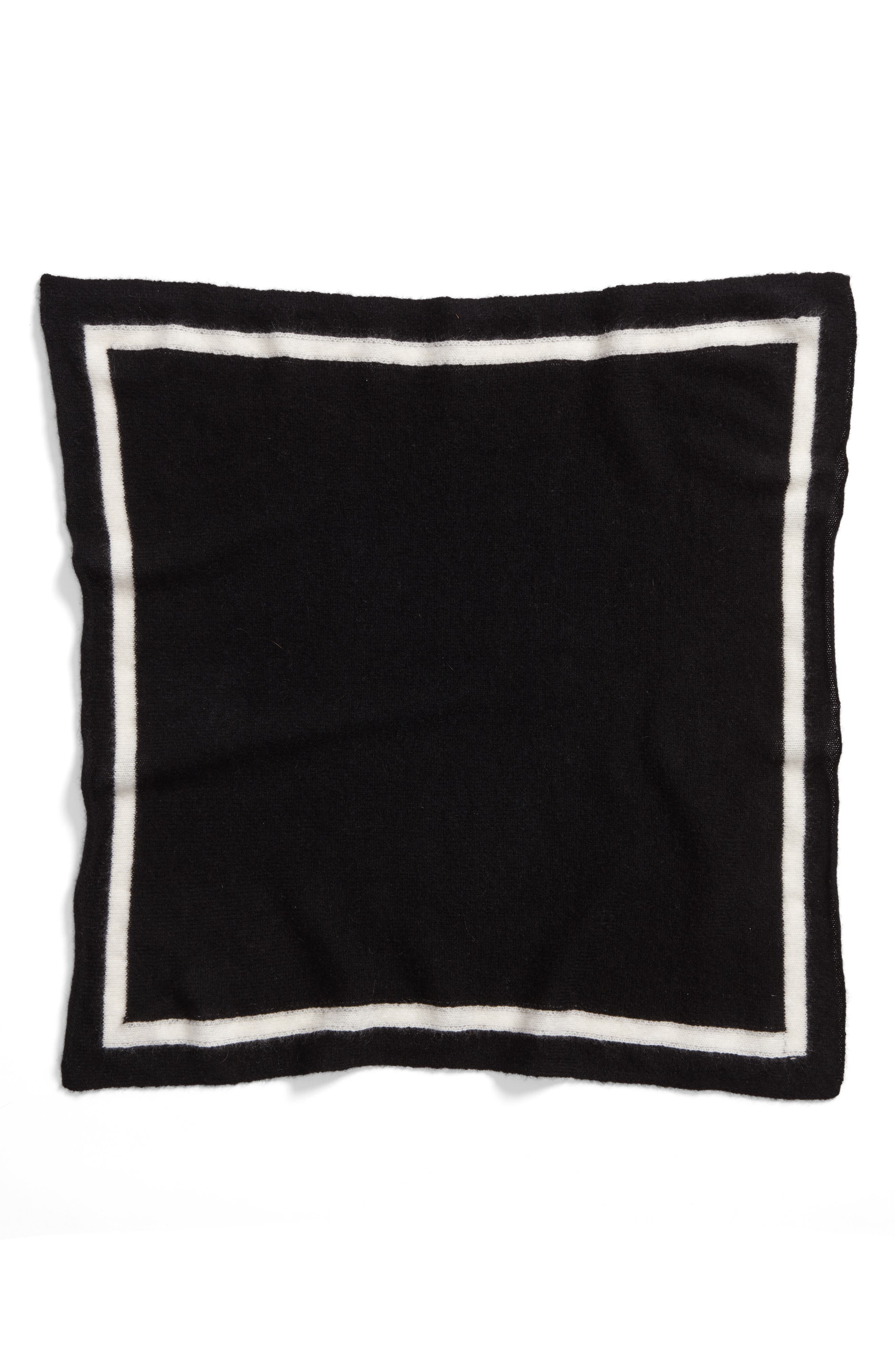 Tipped Cashmere Scarf,                             Alternate thumbnail 4, color,