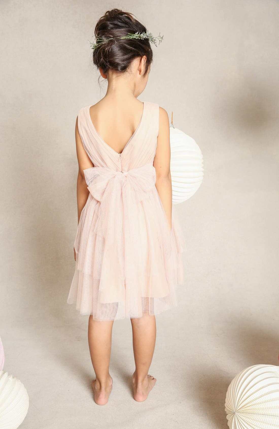 Etsy Tulle Dress,                             Alternate thumbnail 3, color,                             CAMEO PINK