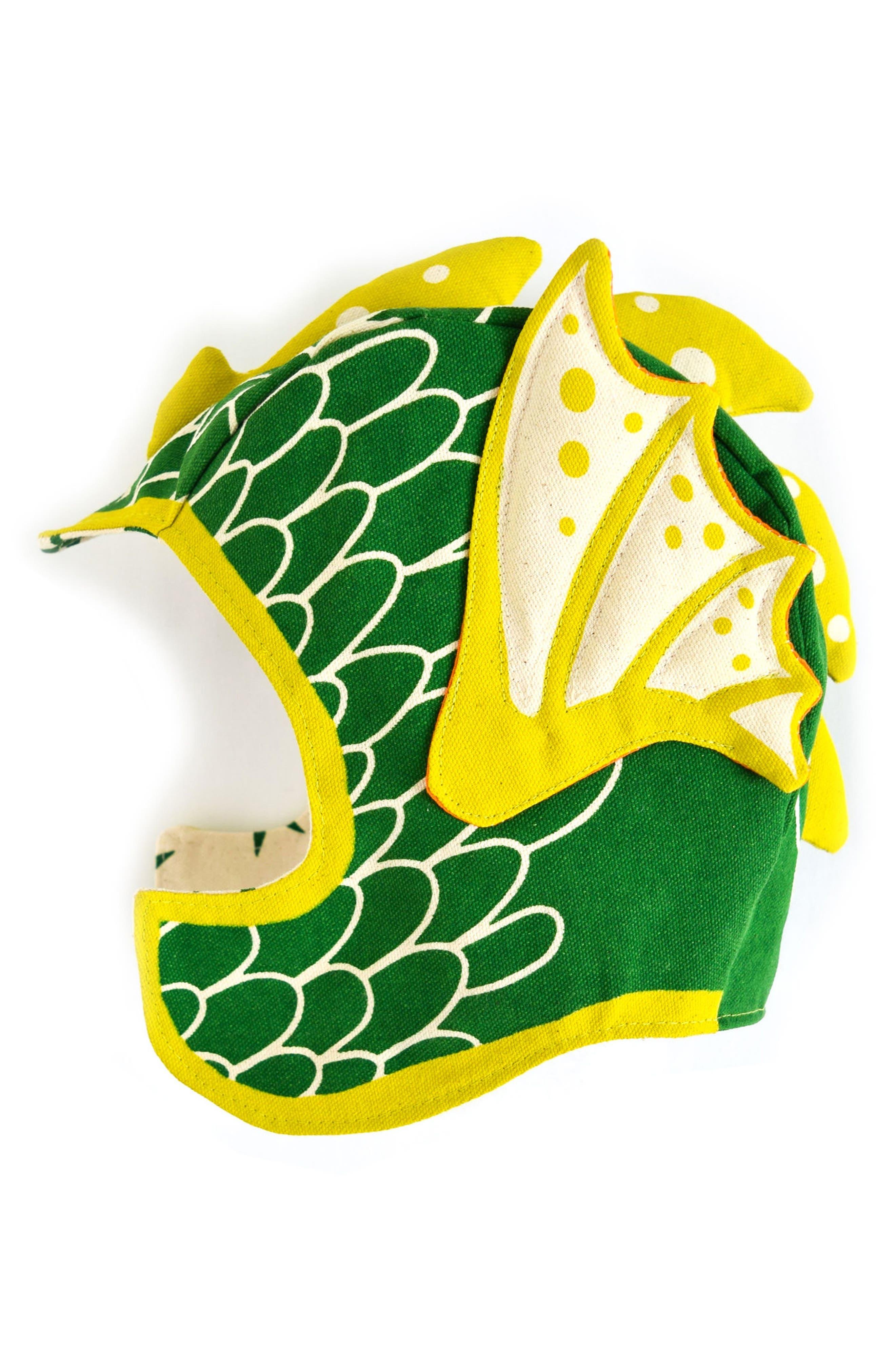 Dragon Hat,                             Main thumbnail 1, color,                             GREEN