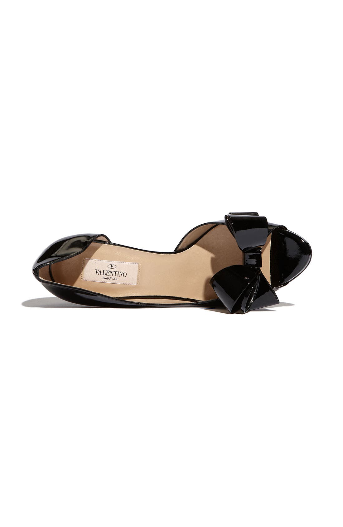 Couture Bow d'Orsay Pump,                             Alternate thumbnail 2, color,                             001