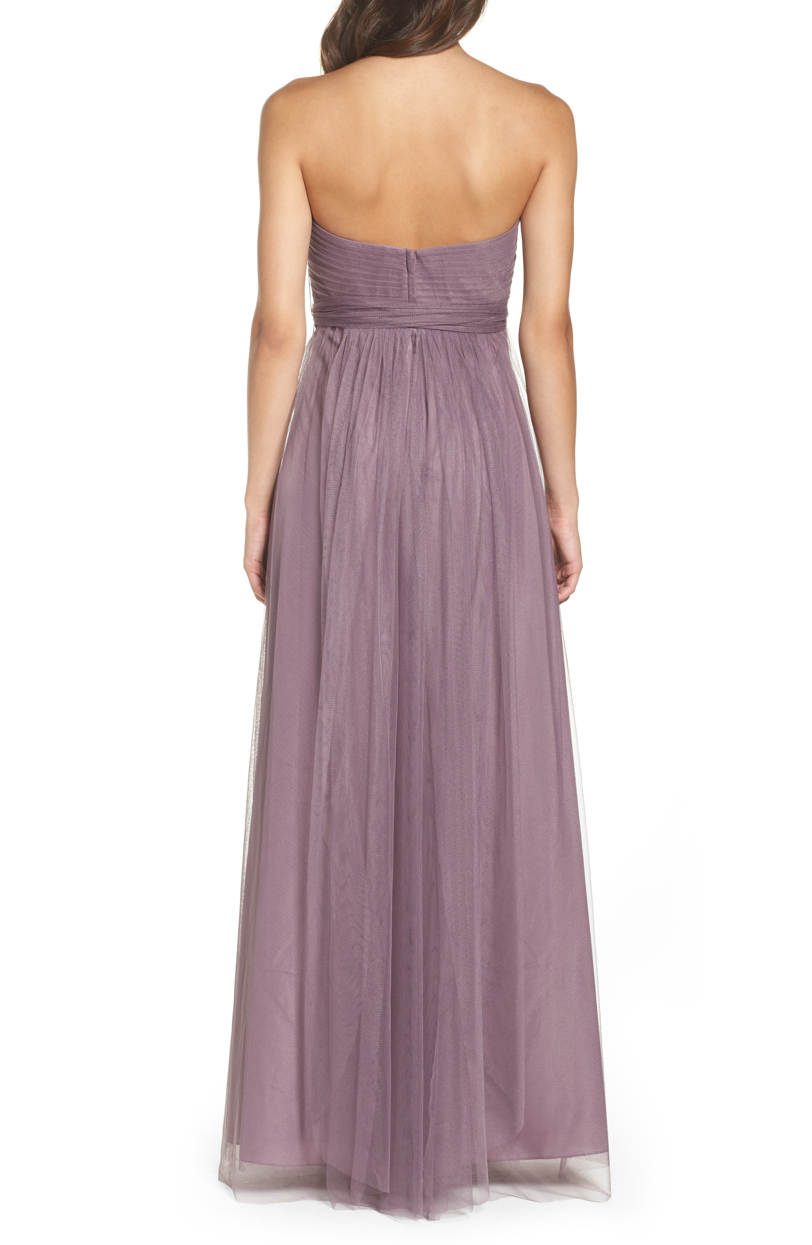 Annabelle Convertible Tulle Column Dress,                             Alternate thumbnail 69, color,