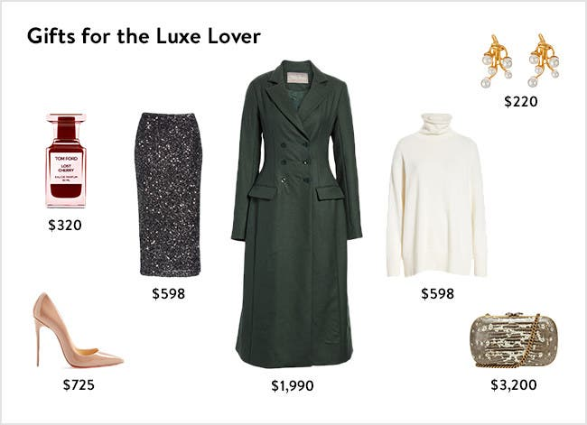 Gifts for the luxe lover.