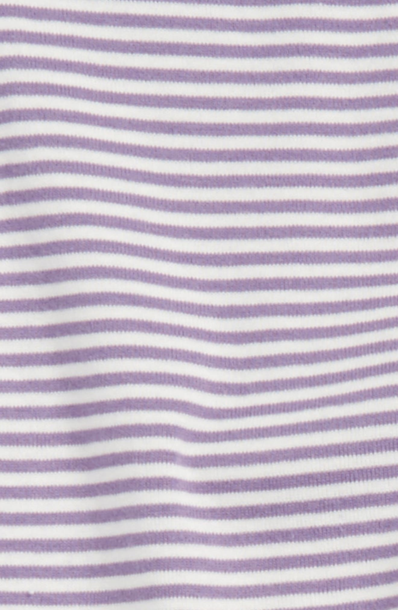Stripe Cotton Leggings,                             Alternate thumbnail 9, color,