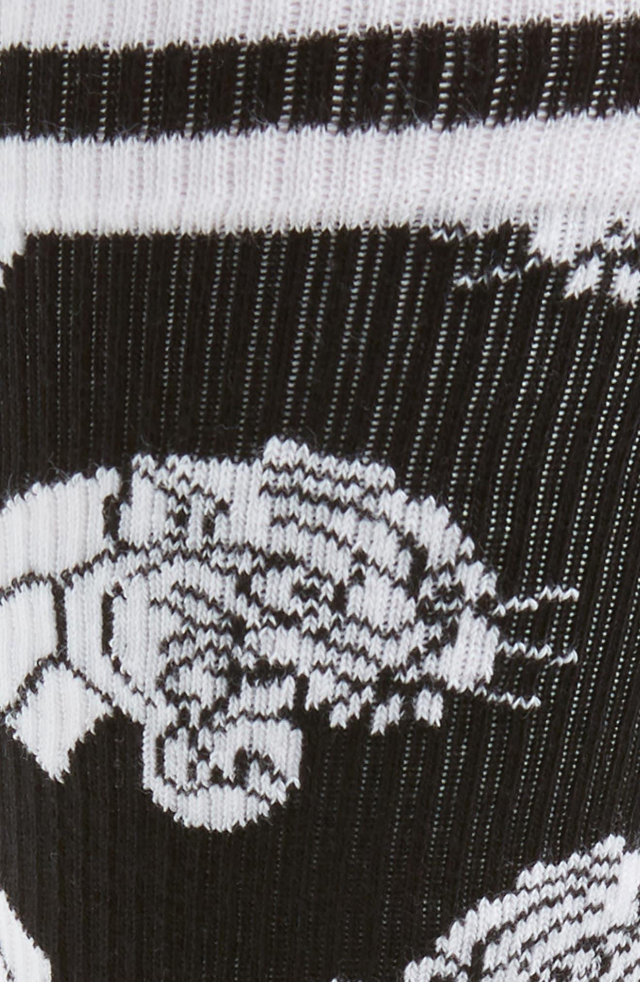 Athletic Mountain Lion Socks,                             Alternate thumbnail 2, color,                             BLACK