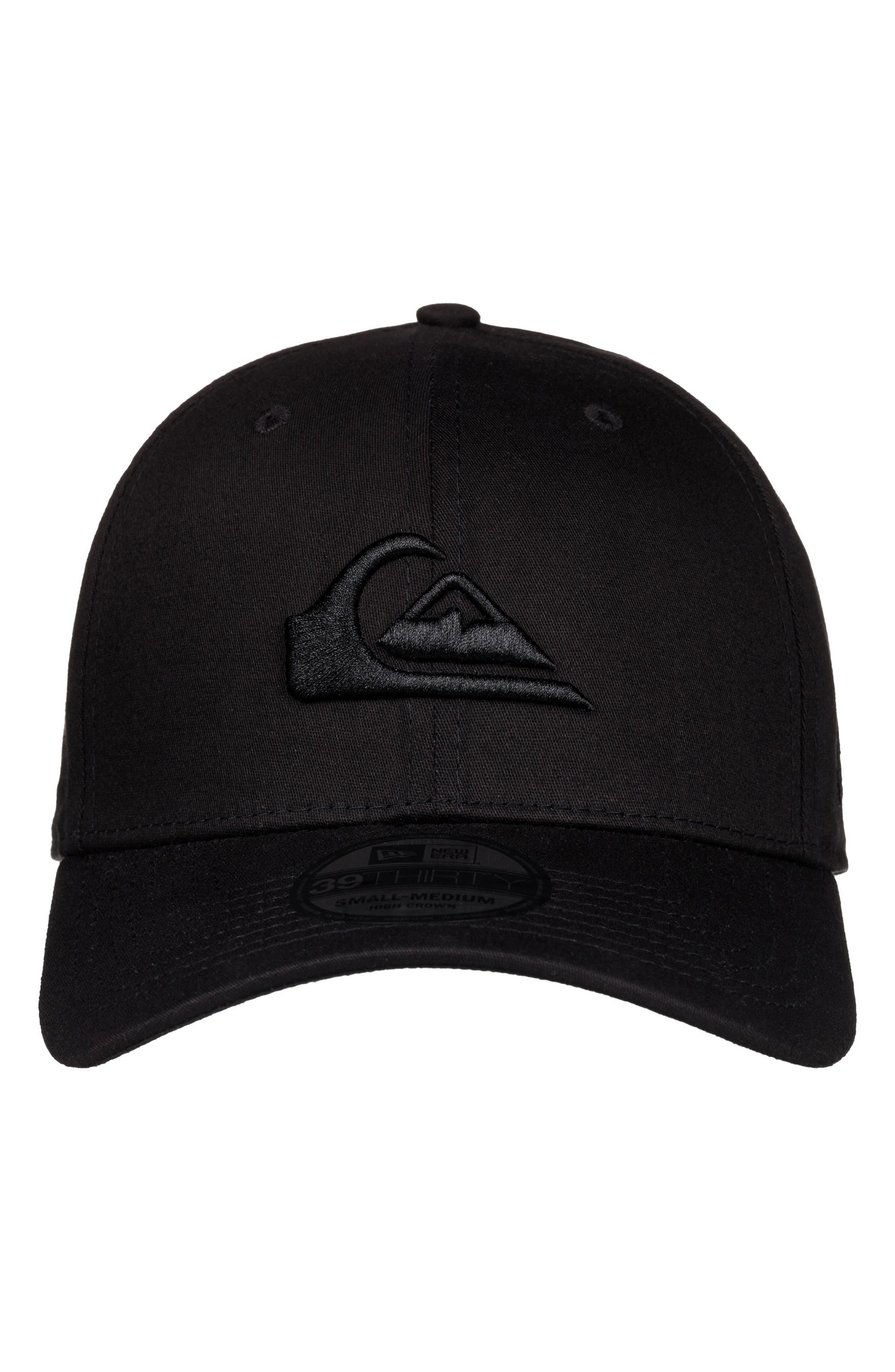 Mountain & Wave Baseball Cap,                             Alternate thumbnail 2, color,                             BLACK