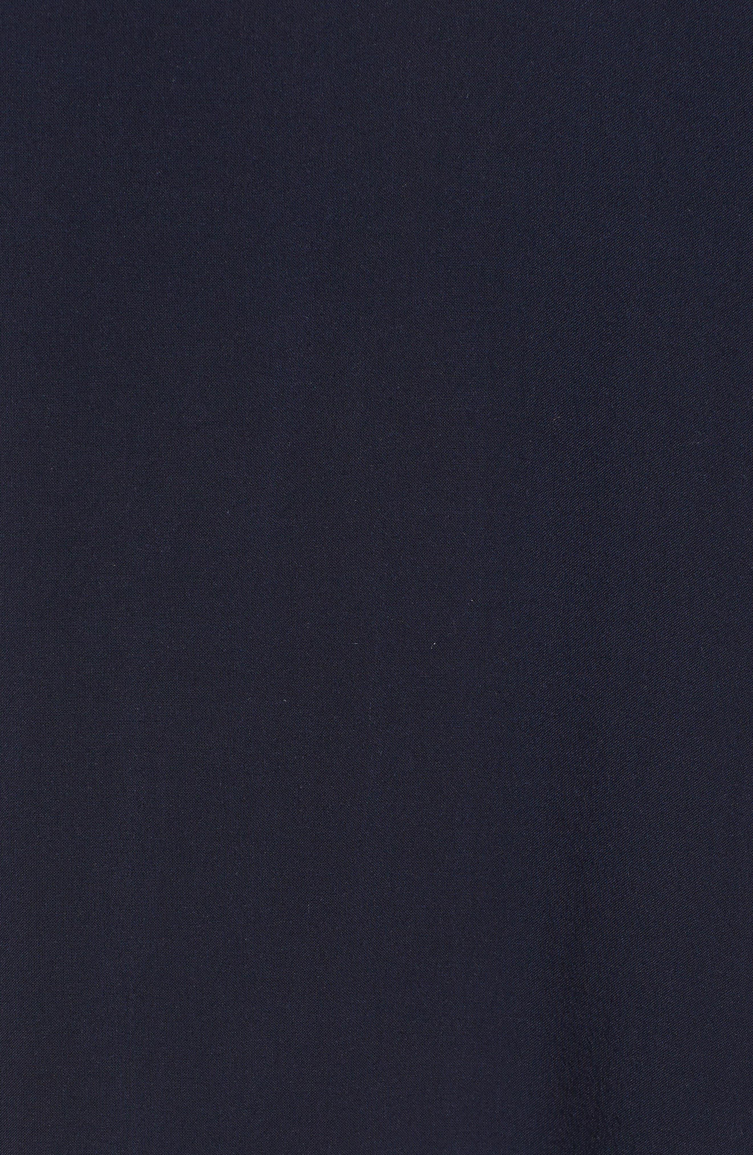 Challis Peasant Sleeve Blouse,                             Alternate thumbnail 5, color,                             494