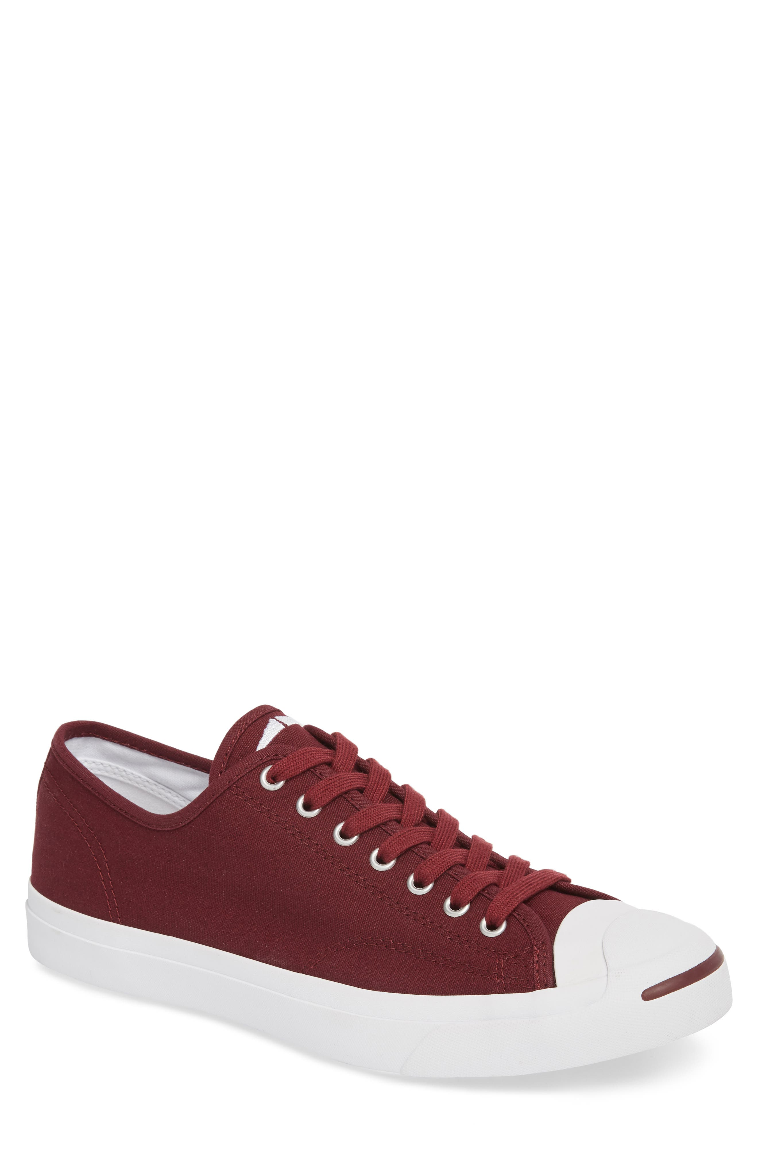 'Jack Purcell' Sneaker,                             Main thumbnail 1, color,                             DARK BURGUNDY CANVAS