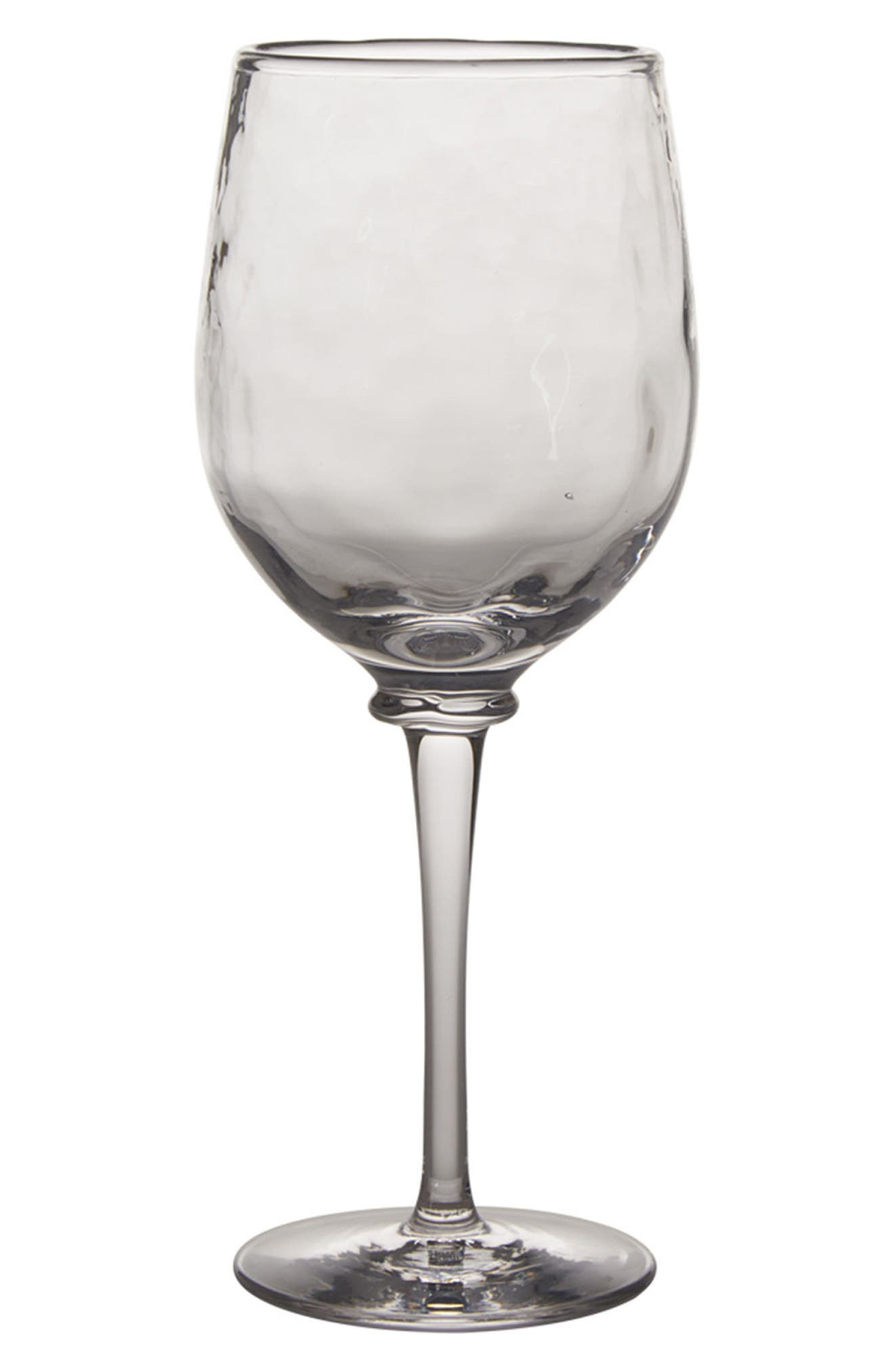 Carine White Wine Goblet,                             Main thumbnail 1, color,                             CLEAR