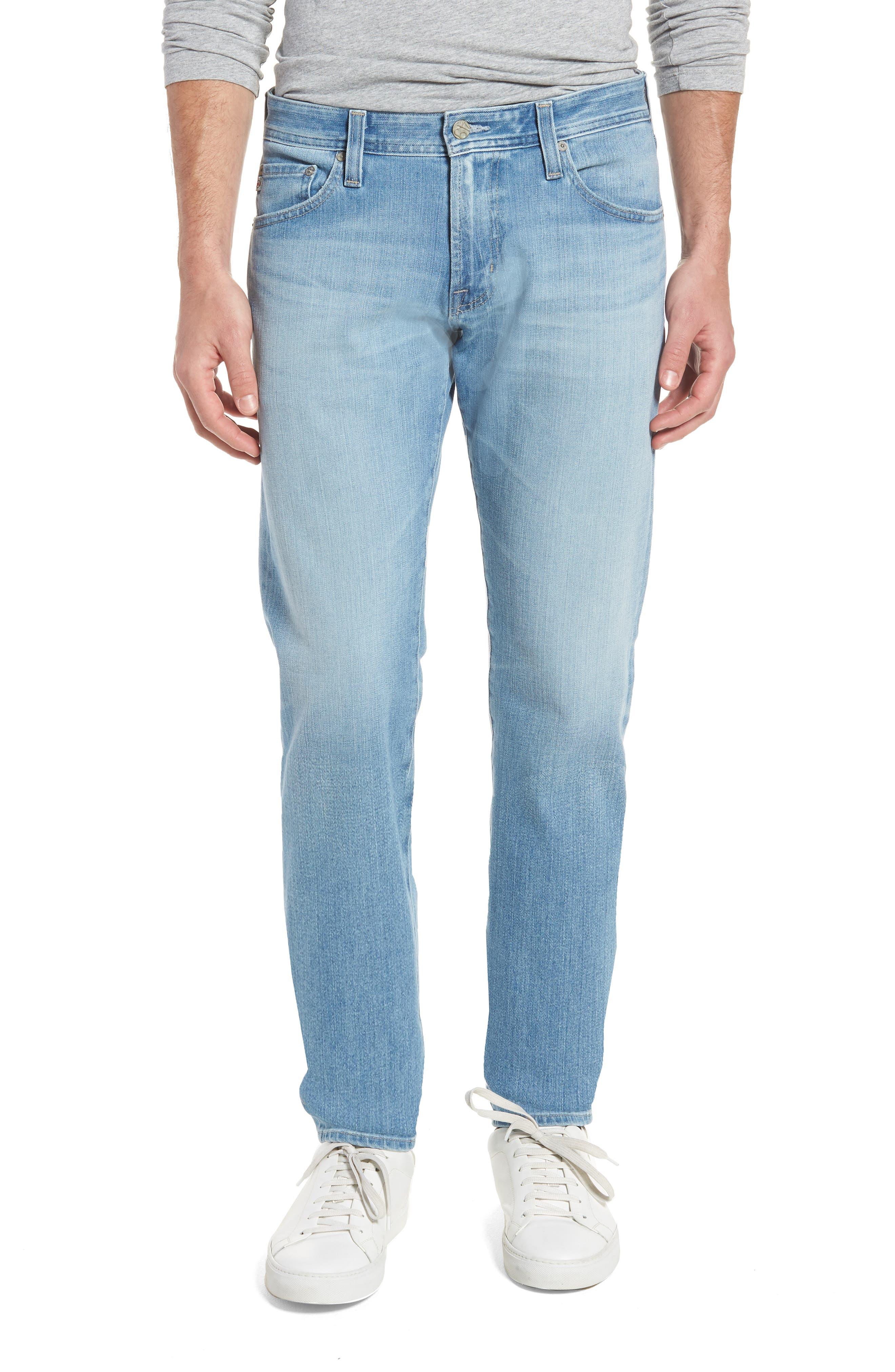 AG Tellis Slim Fit Jeans, Main, color, 498