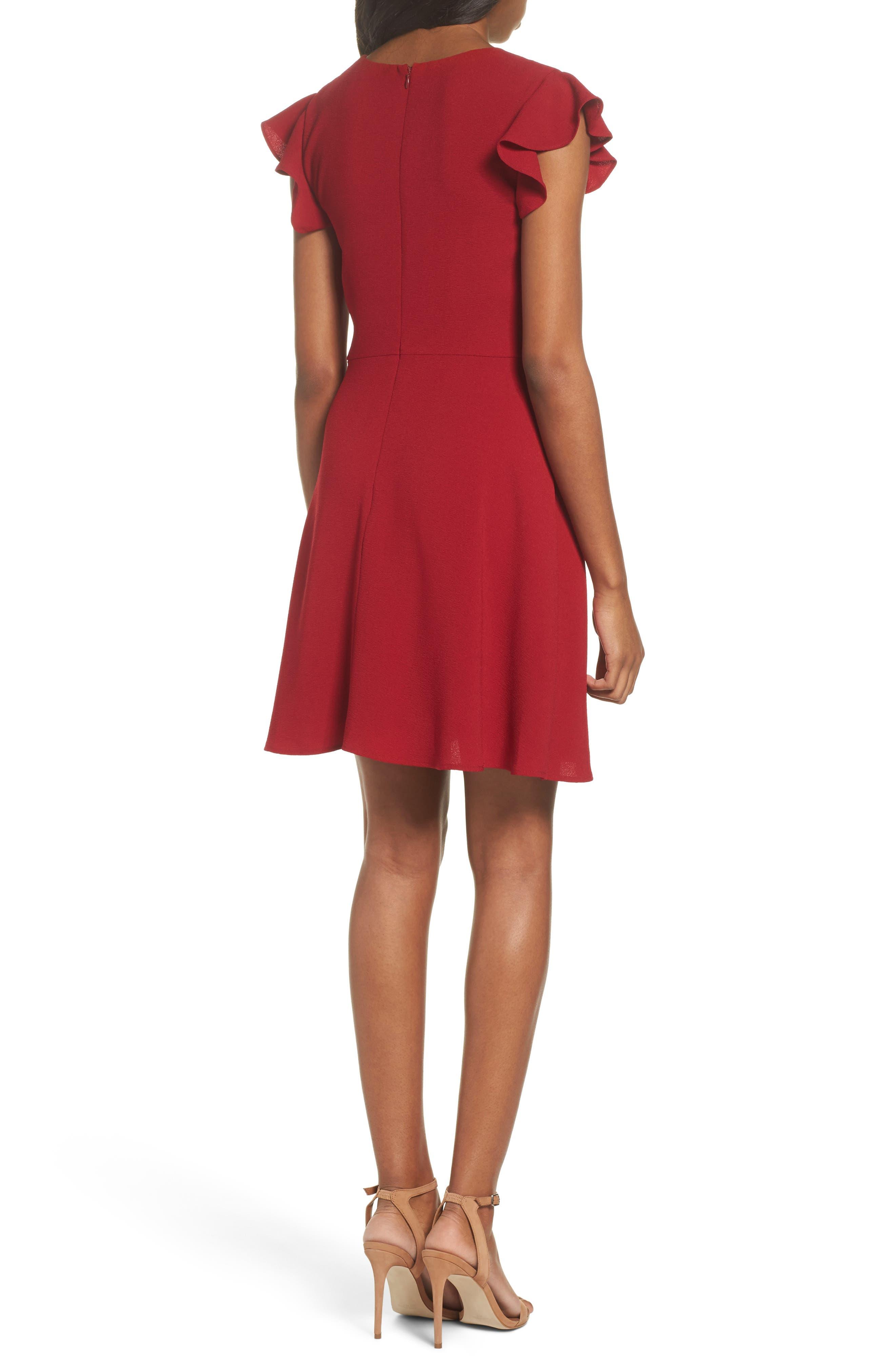 Fit & Flare Dress,                             Alternate thumbnail 2, color,                             930