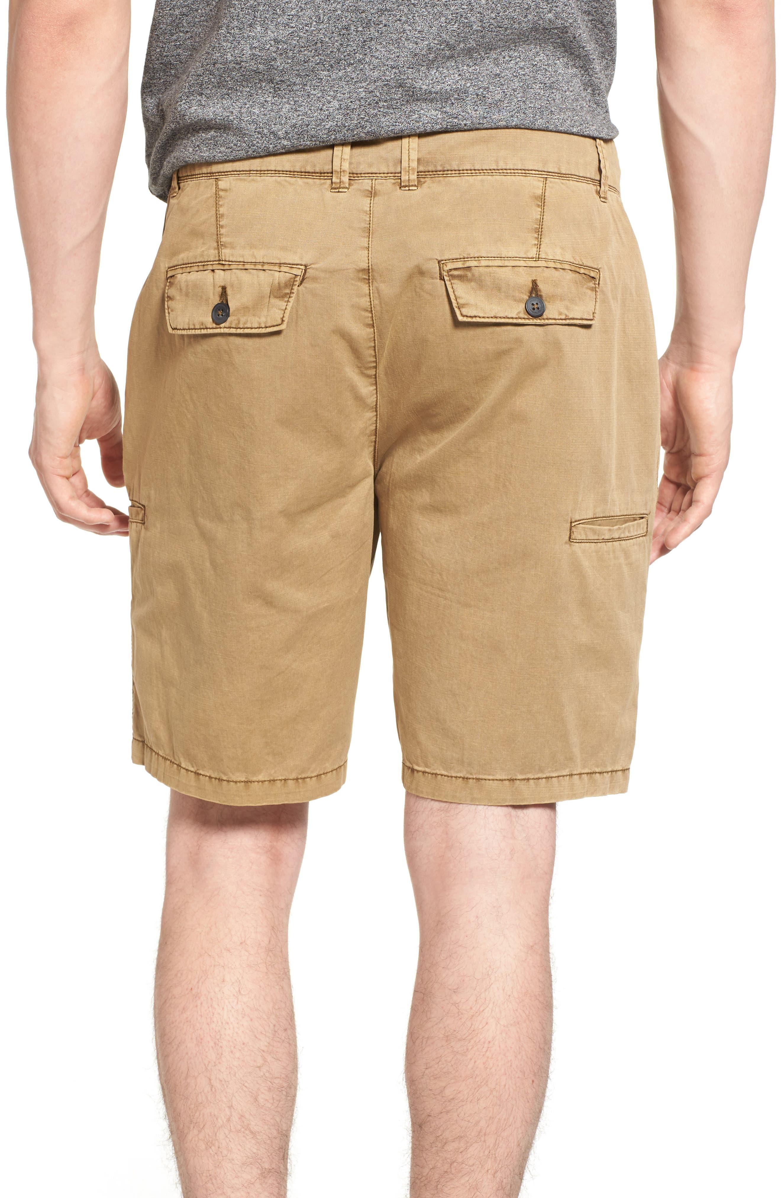 Merrill Pigment Slub Poplin Shorts,                             Alternate thumbnail 2, color,                             CELLO