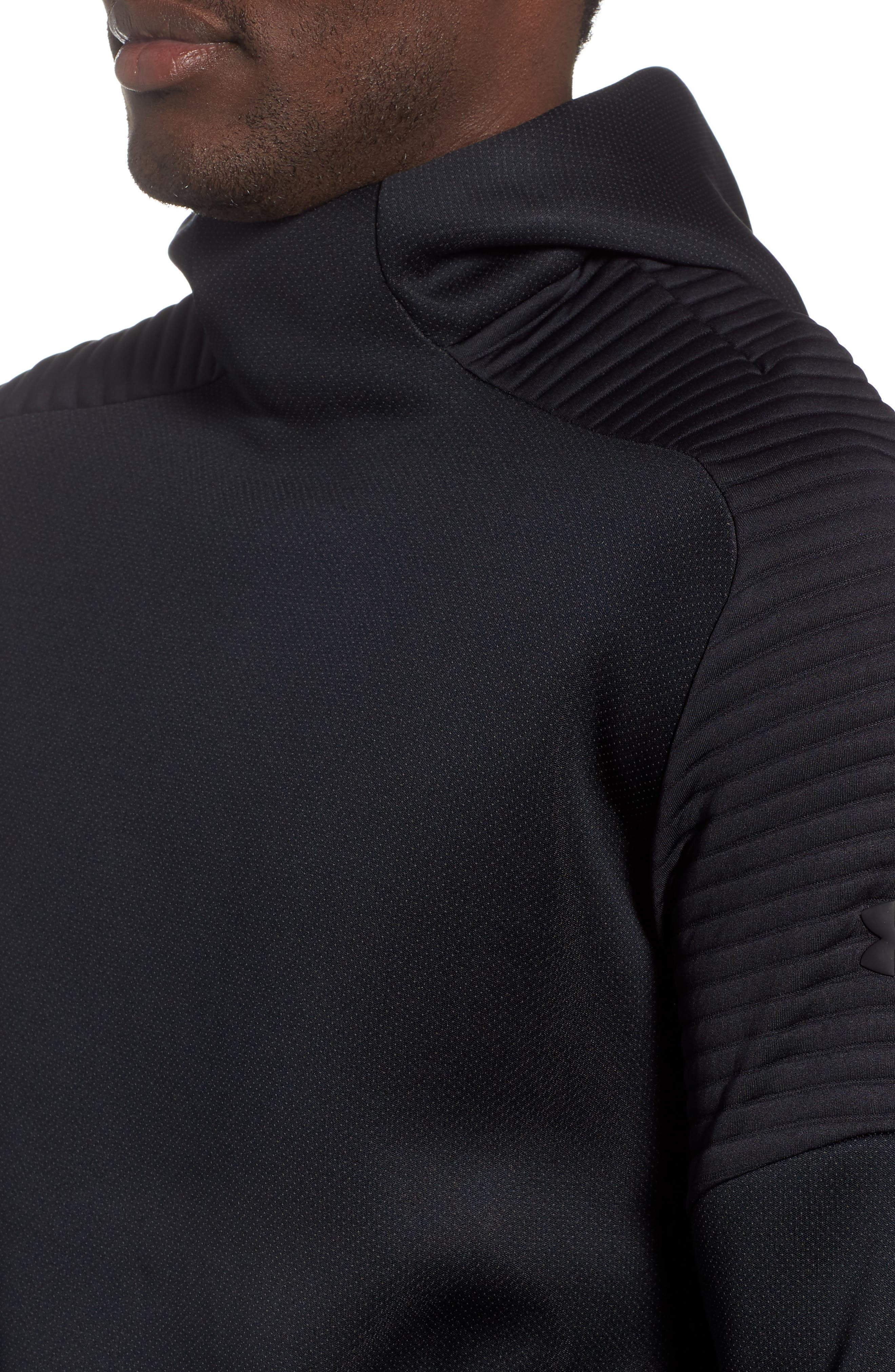 Unstoppable /MOVE Hoodie,                             Alternate thumbnail 4, color,                             BLACK/ CHARCOAL/ BLACK