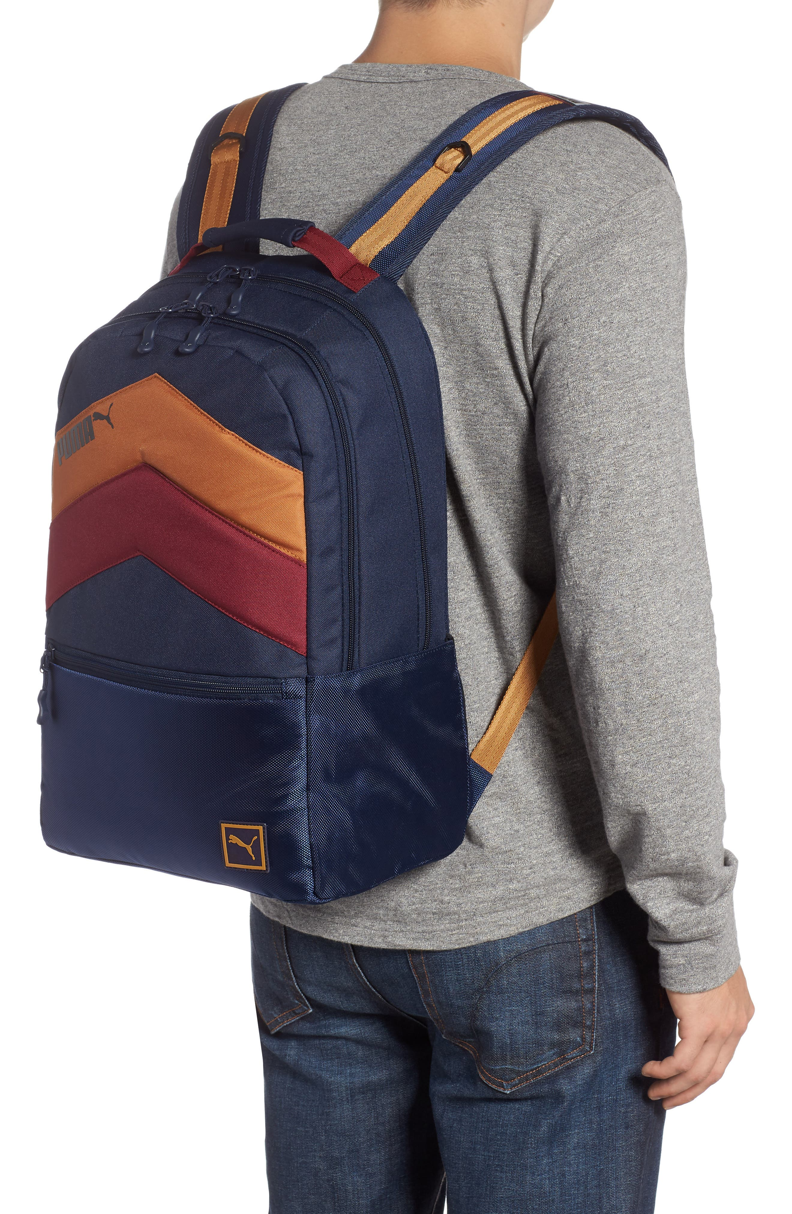 PUMA,                             Ready Backpack,                             Alternate thumbnail 2, color,                             NAVY