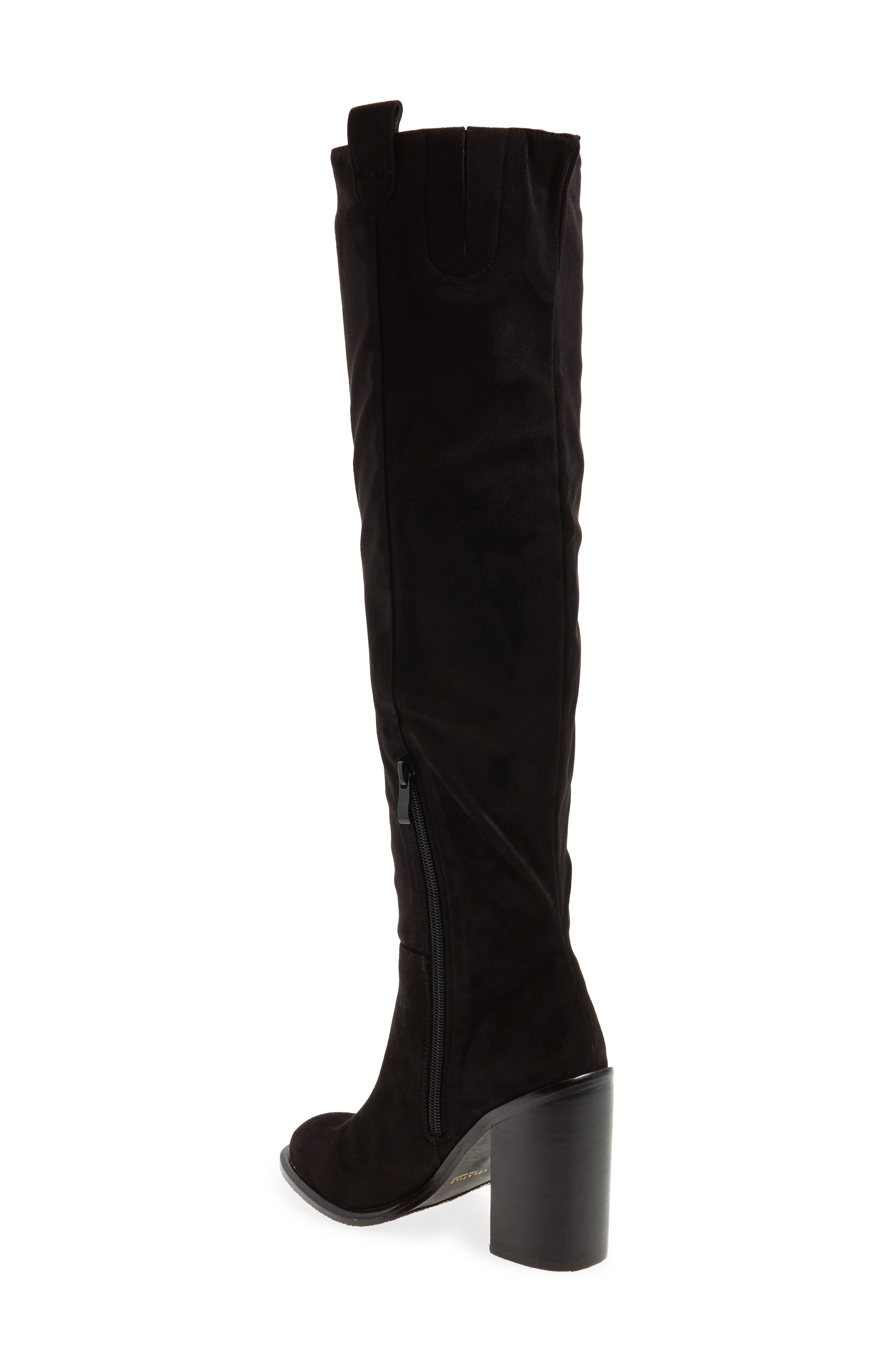 Nate Over the Knee Boot,                             Alternate thumbnail 4, color,